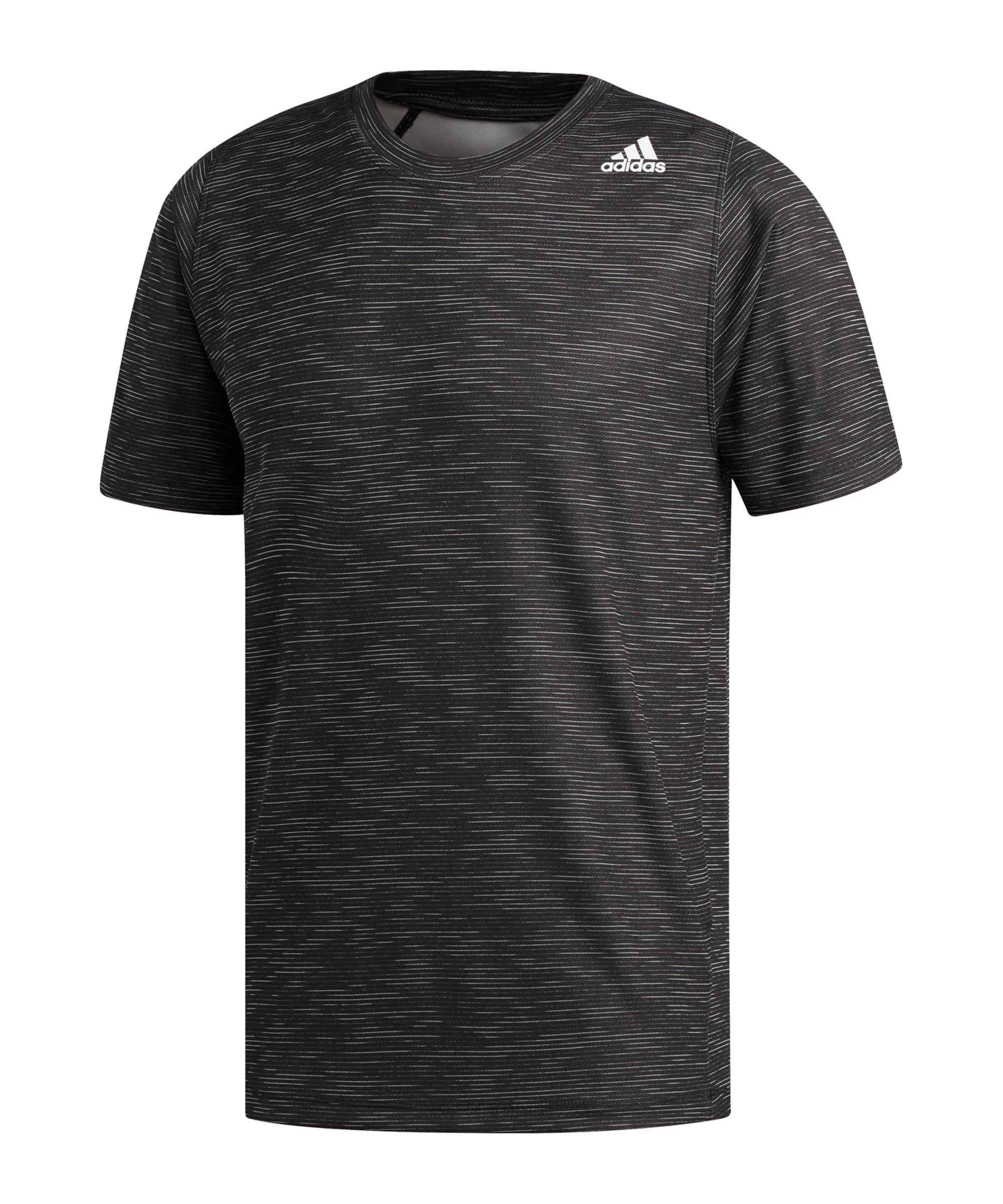 adidas FreeLift Tech T-Shirt Grau - schwarz