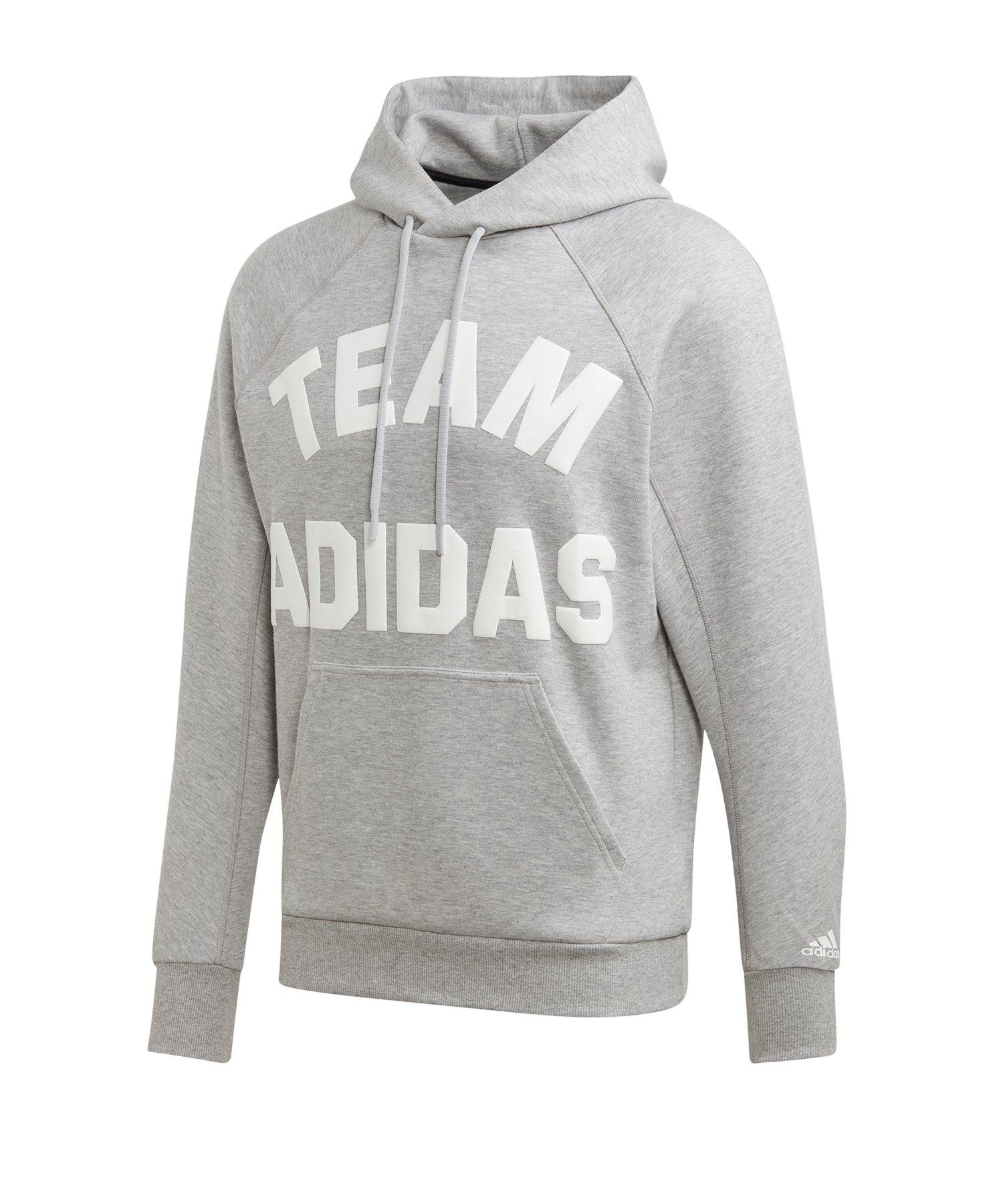 adidas VRCT Hoody Kapuzensweatshirt Grau - grau