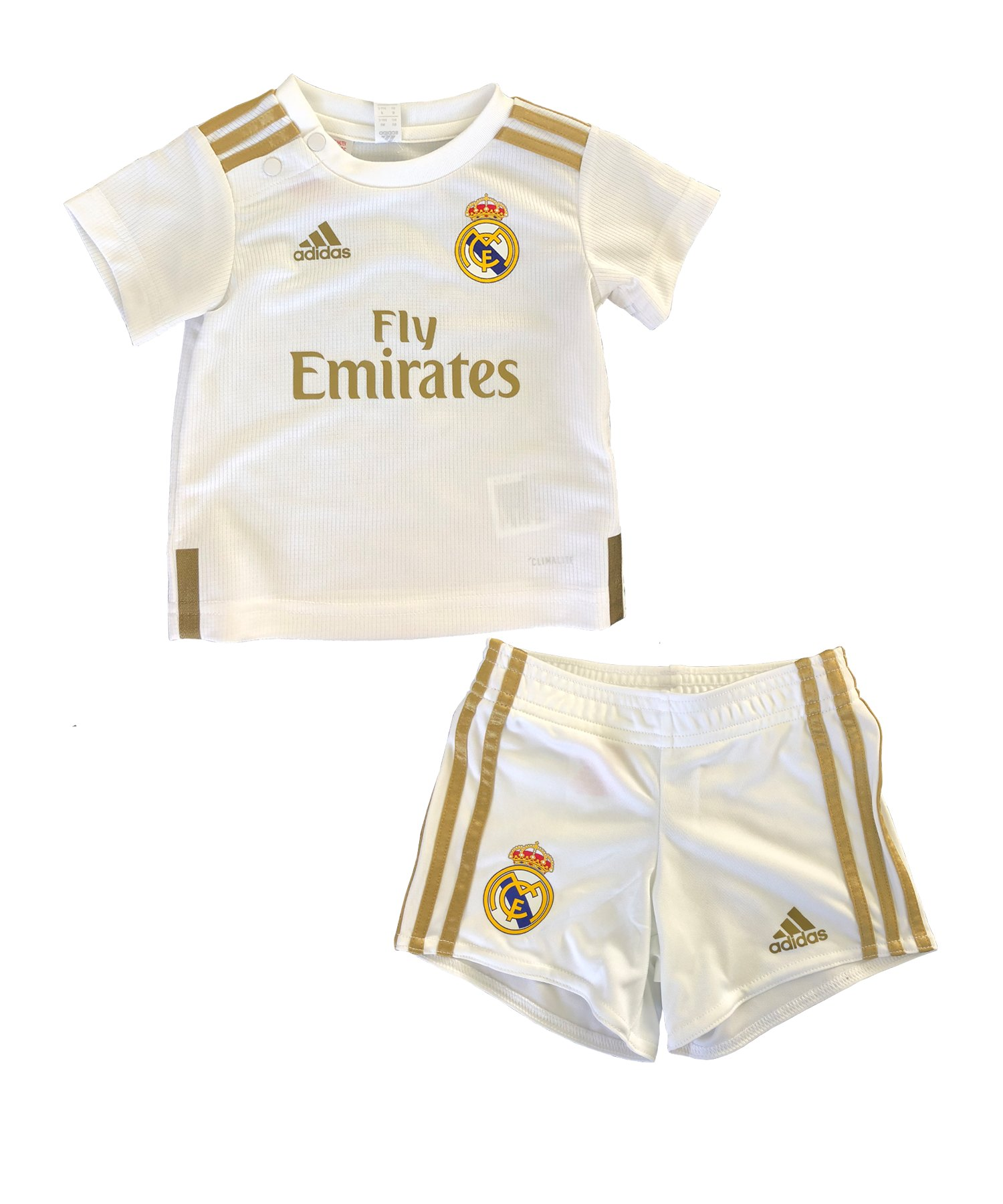 adidas Real Madrid Babykit Home 2019/2020 Weiss - Weiss