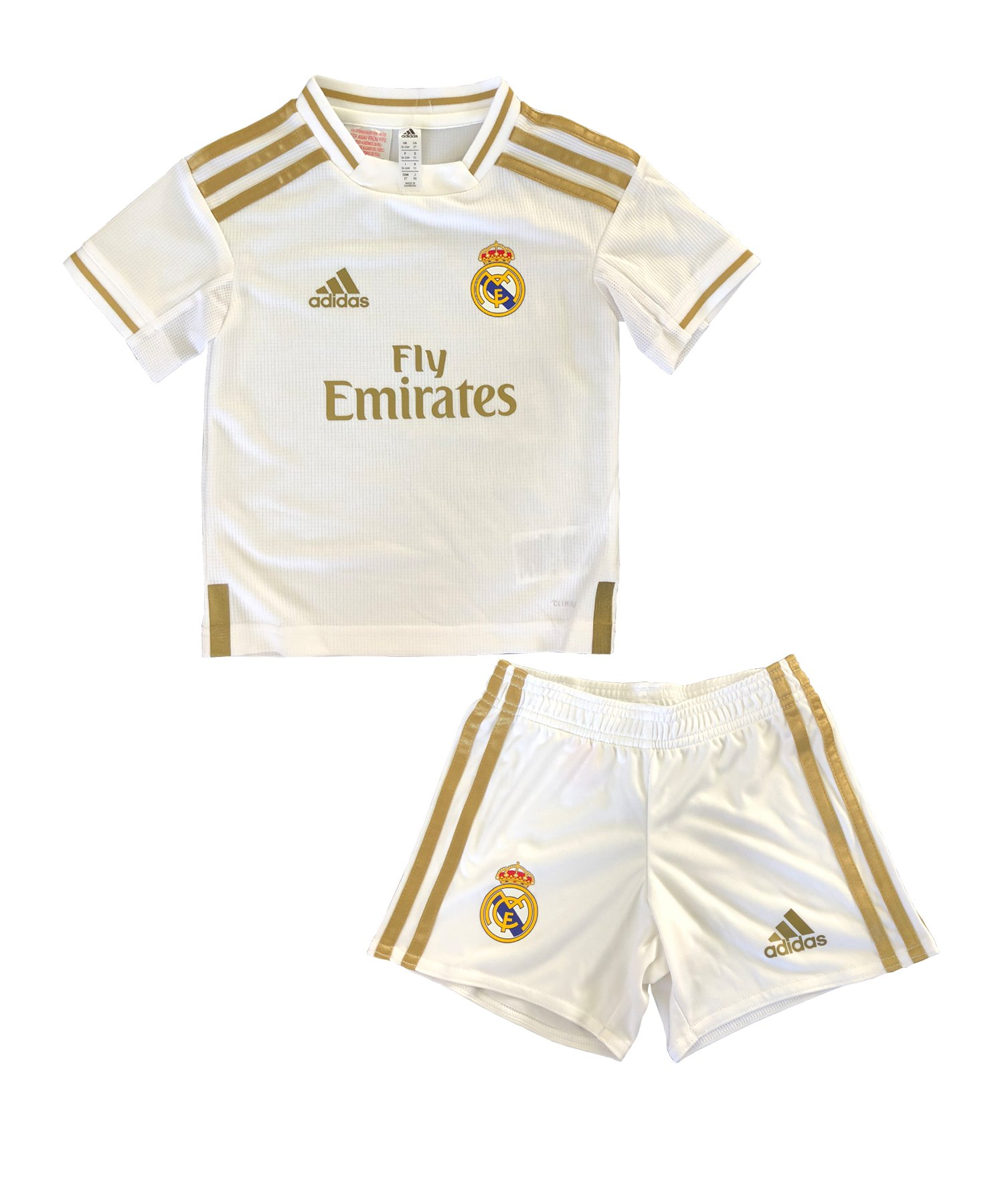adidas Real Madrid Minikit Home 2019/2020 Weiss - Weiss