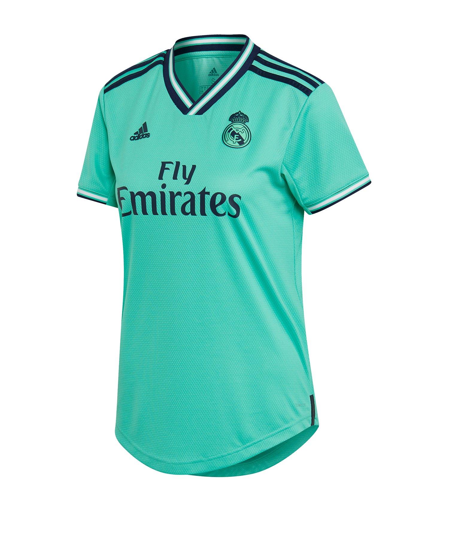 adidas Real Madrid Trikot UCL 2019/2020 Damen Grün - gruen