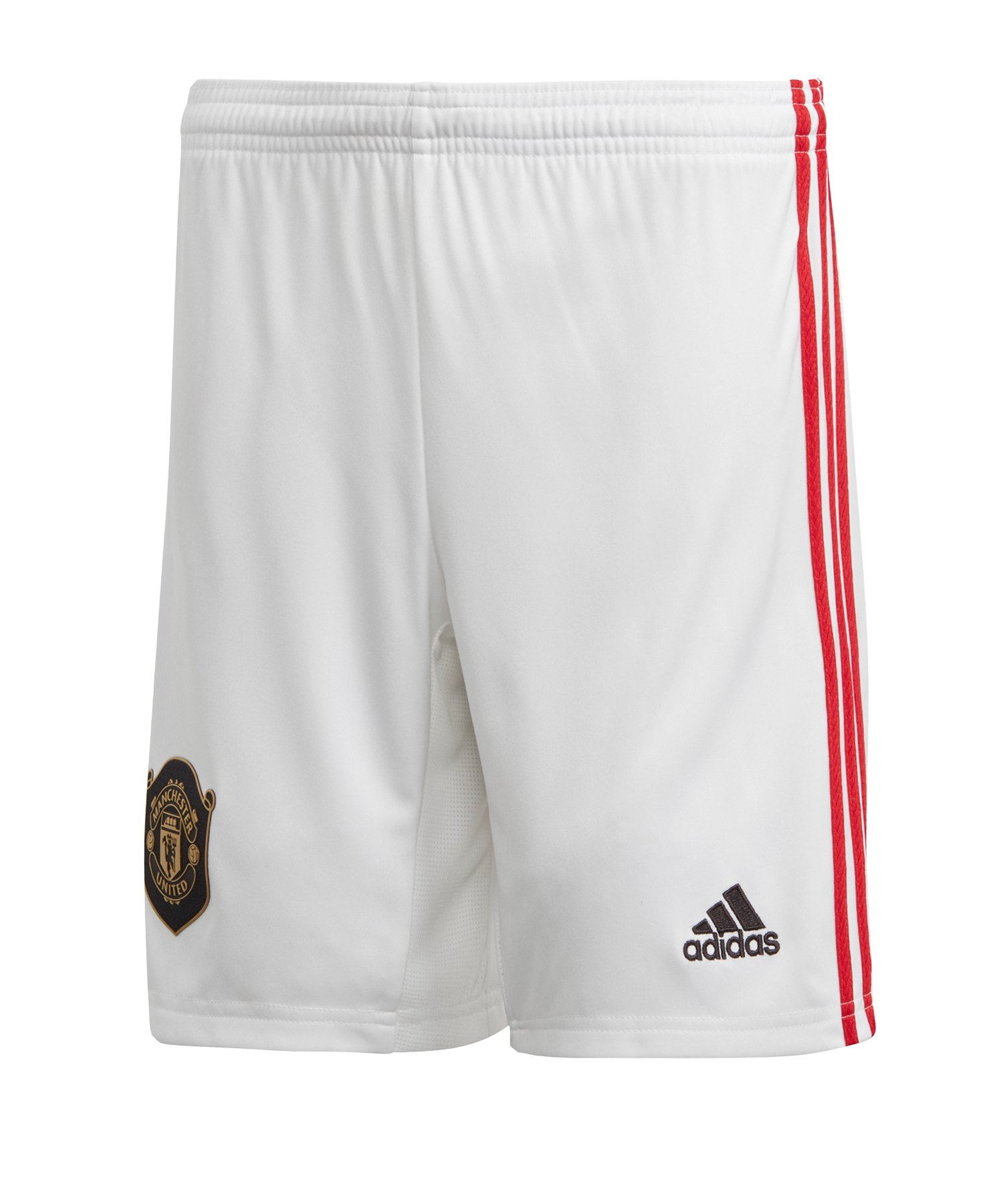 adidas Manchester United Short Home Kids 2019/2020 - Weiss