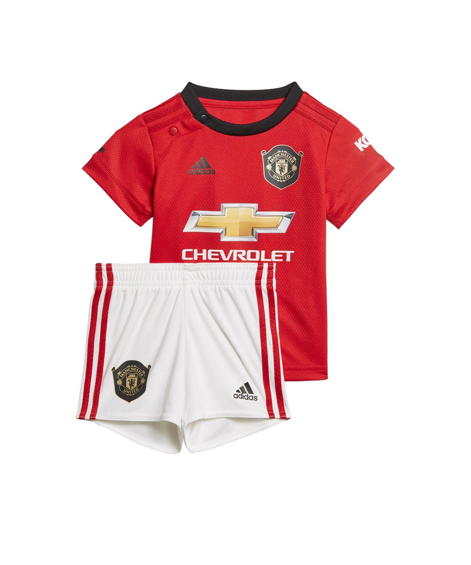 adidas Manchester United Babykit Home 2019/2020 - Rot