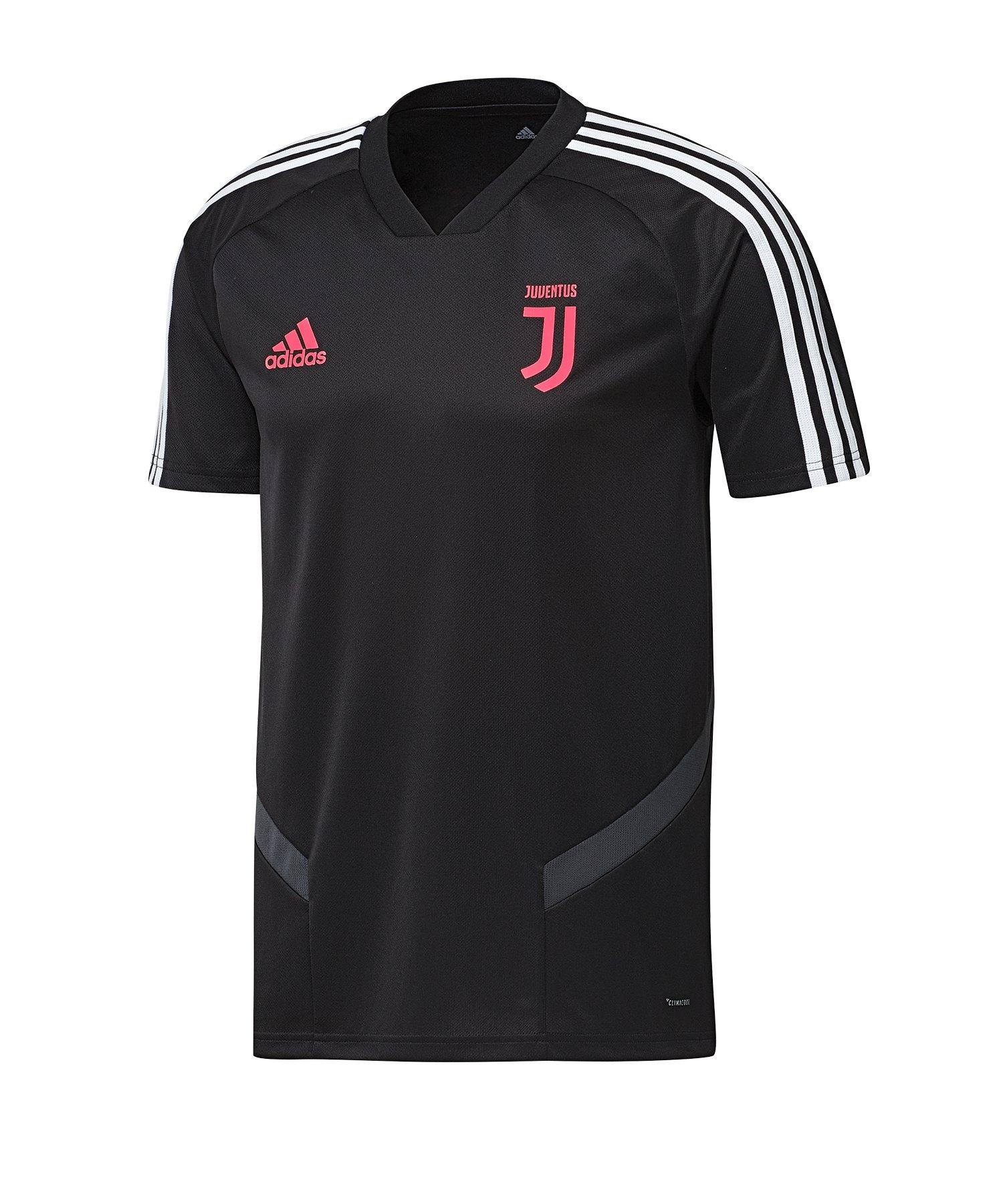 adidas Juventus Turin Trainingstrikot Schwarz Grau - Schwarz