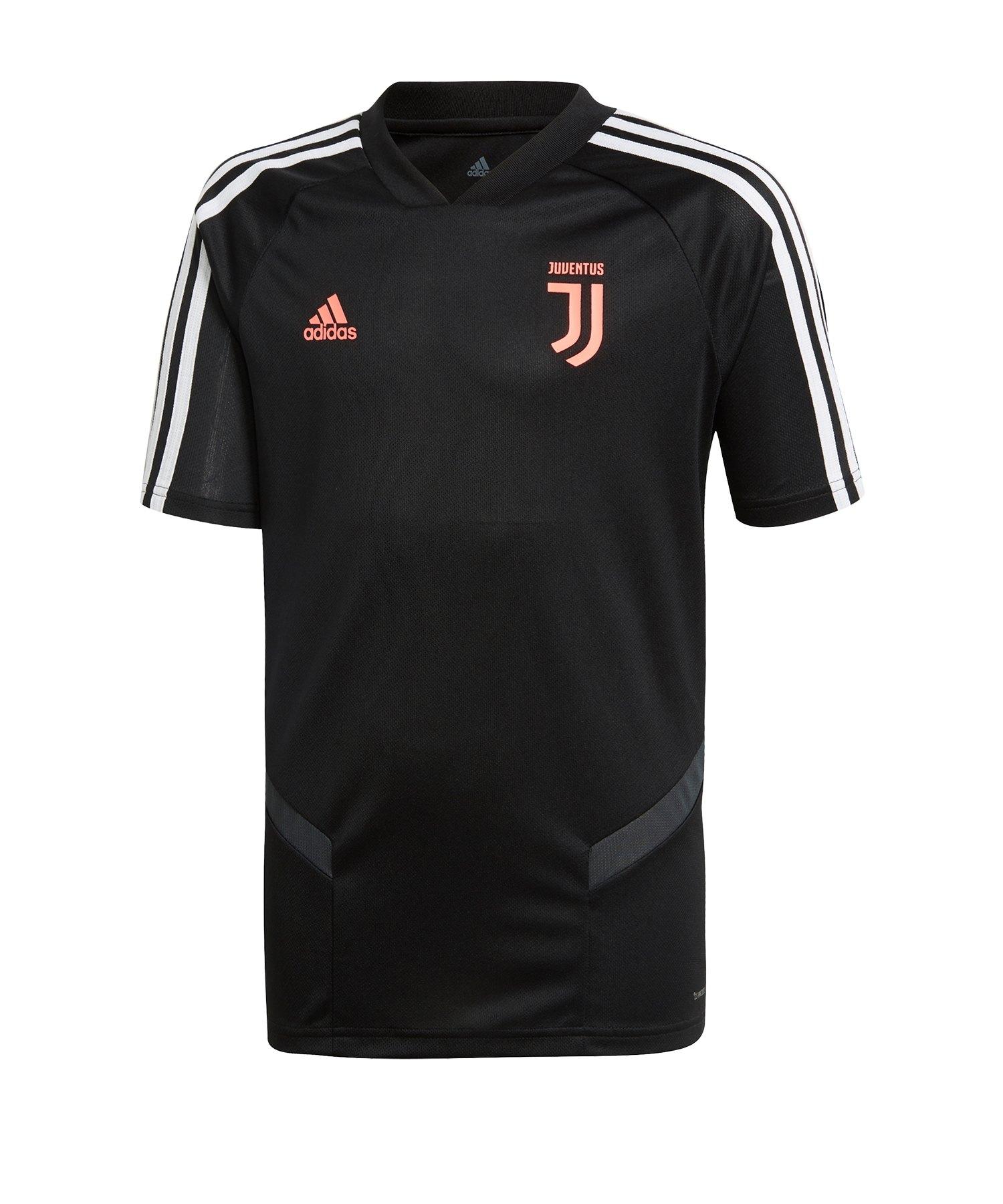 adidas Juventus Turin Trainingstrikot Kids Schwarz - Schwarz