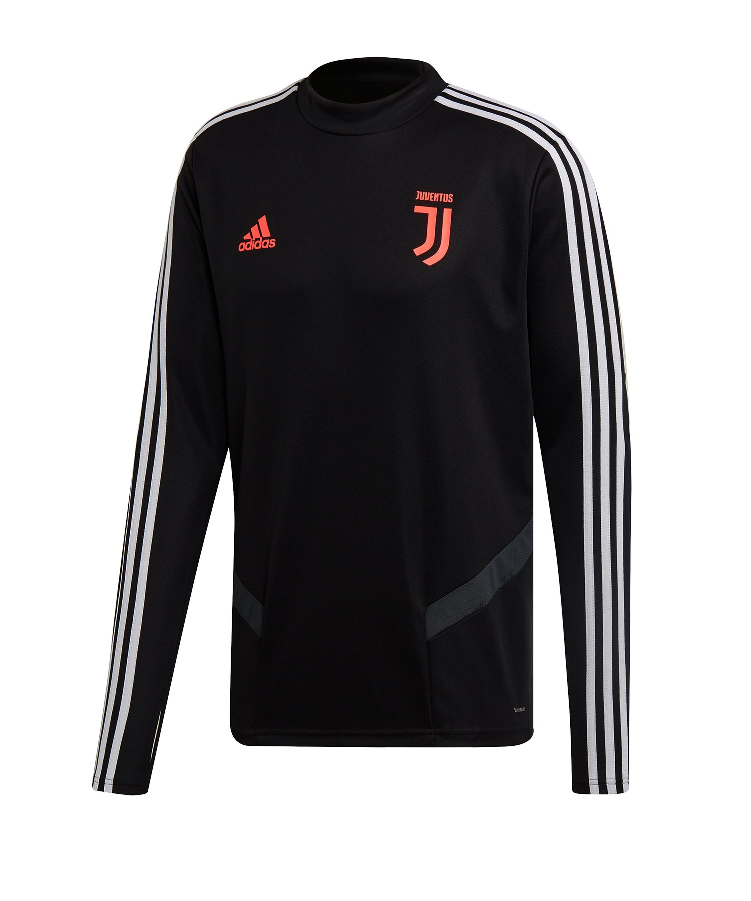 adidas Juventus Turin Trainingstop Schwarz Grau - Schwarz