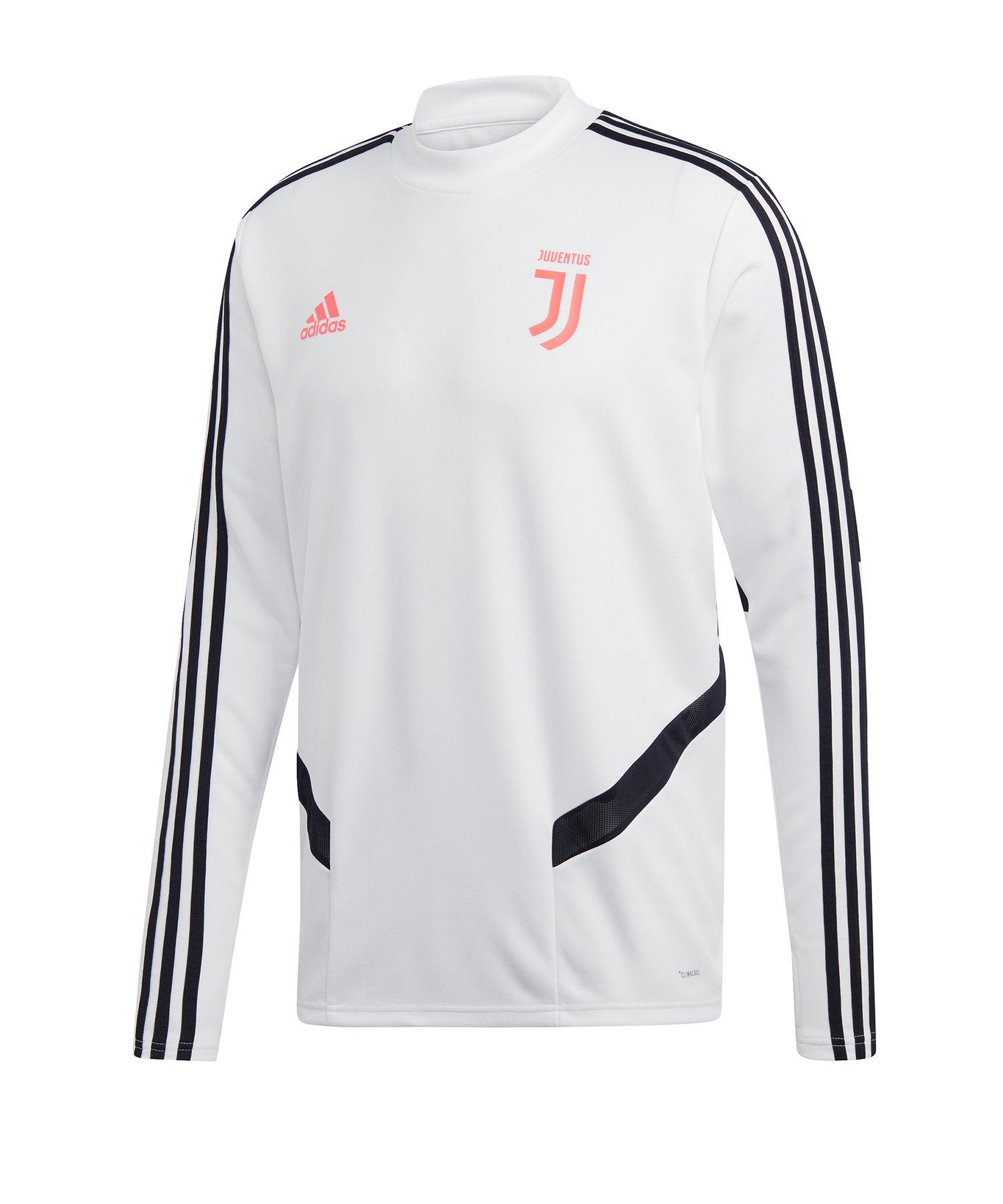 adidas Juventus Turin Trainingstop Weiss Schwarz - Weiss