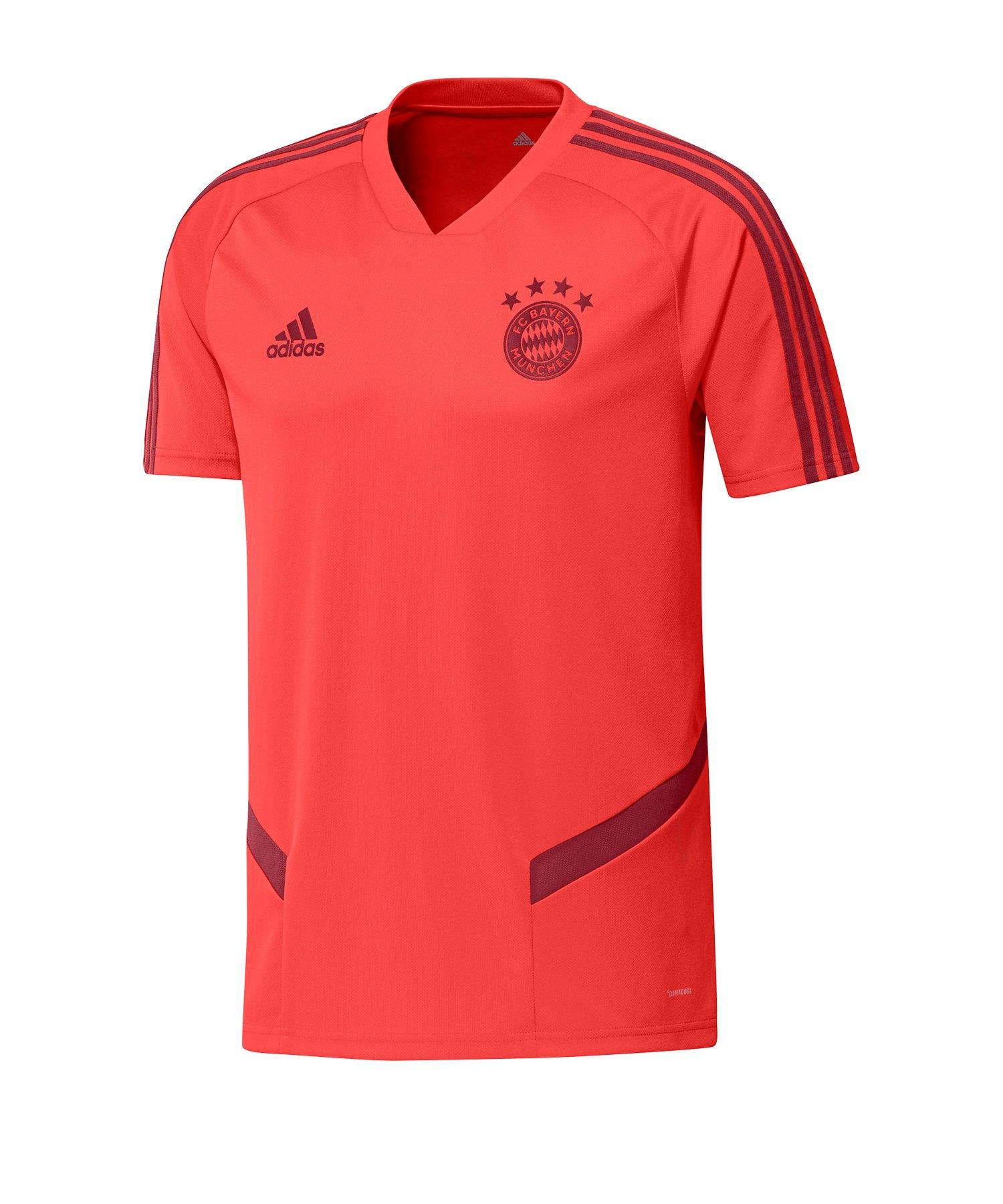 adidas FC Bayern München Trainingstrikot Rot - Rot