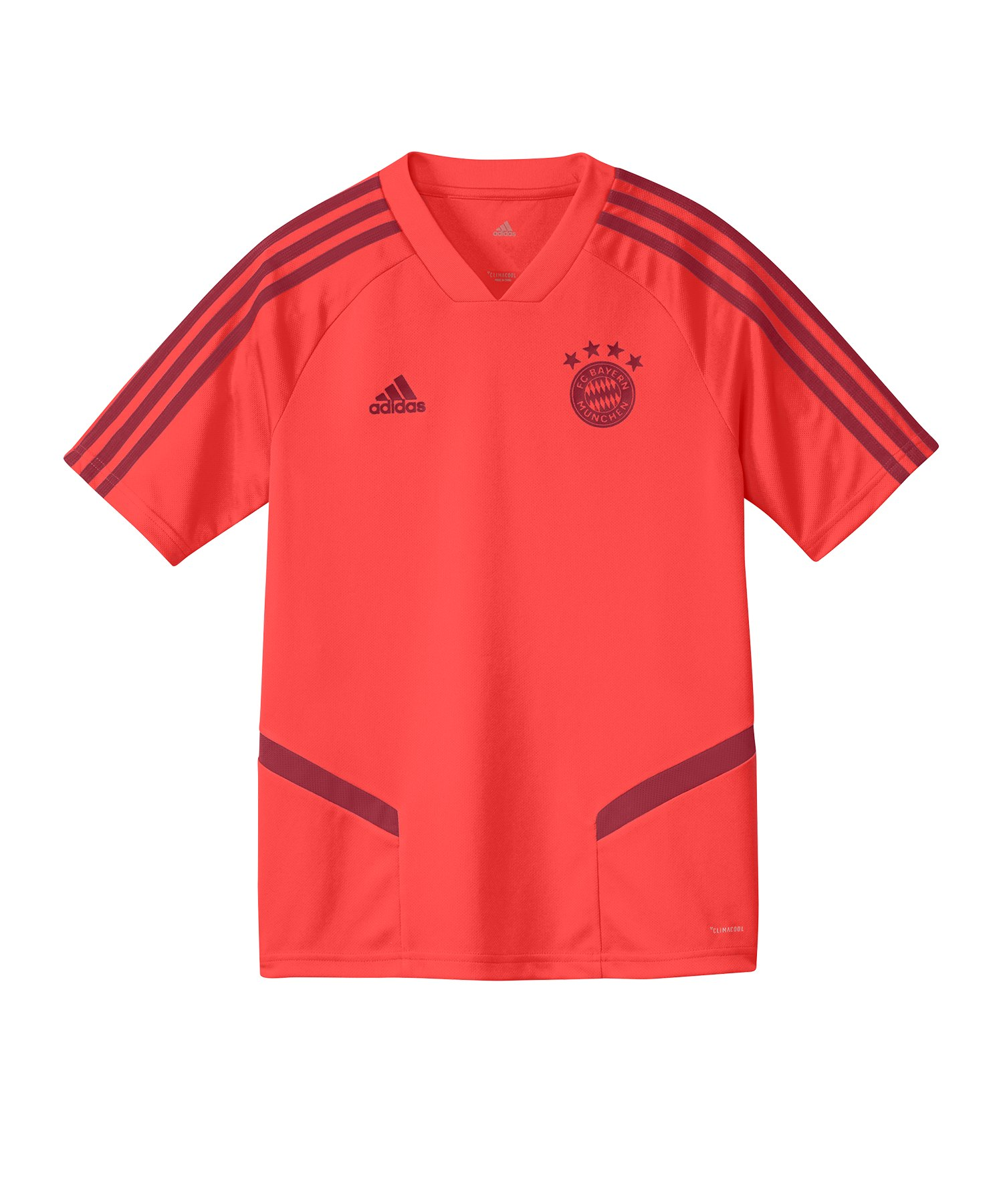 adidas FC Bayern München Trainingstrikot Kids Rot - Rot