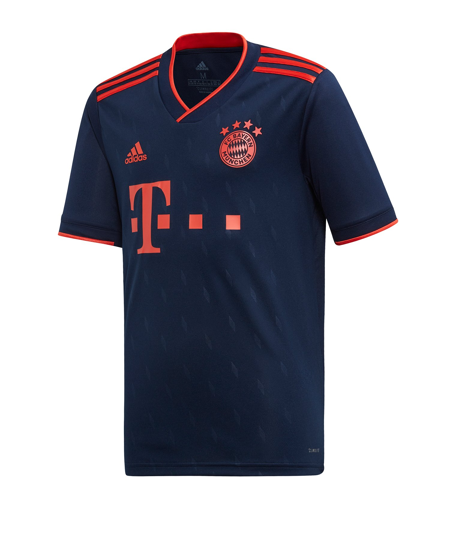 adidas FC Bayern München Trikot UCL 2019/2020 Kids - blau