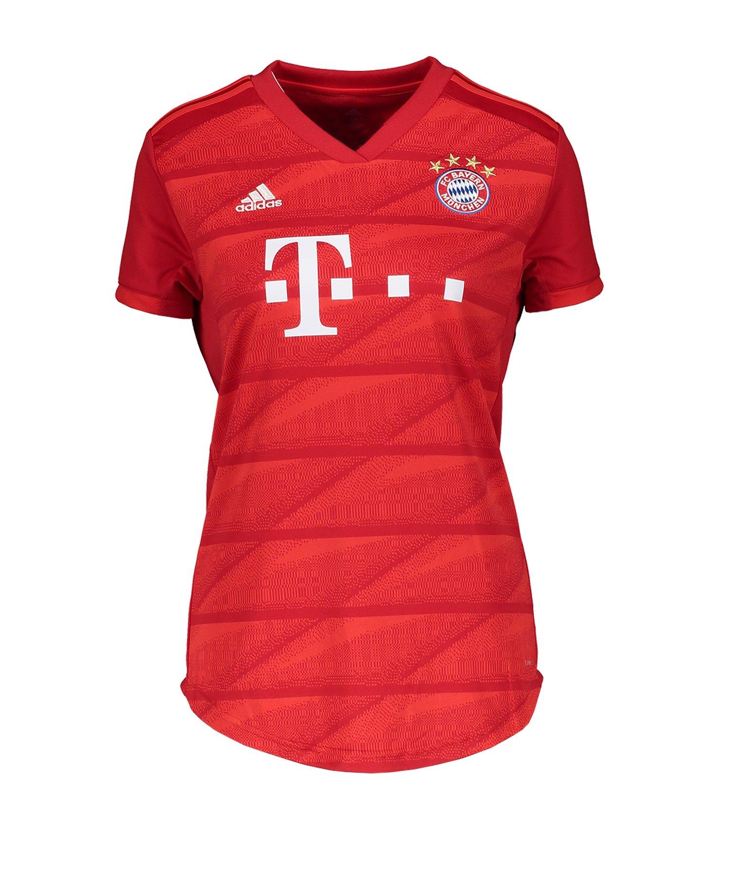 adidas FC Bayern München Trikot Home 2019/20 Damen Damen - Rot
