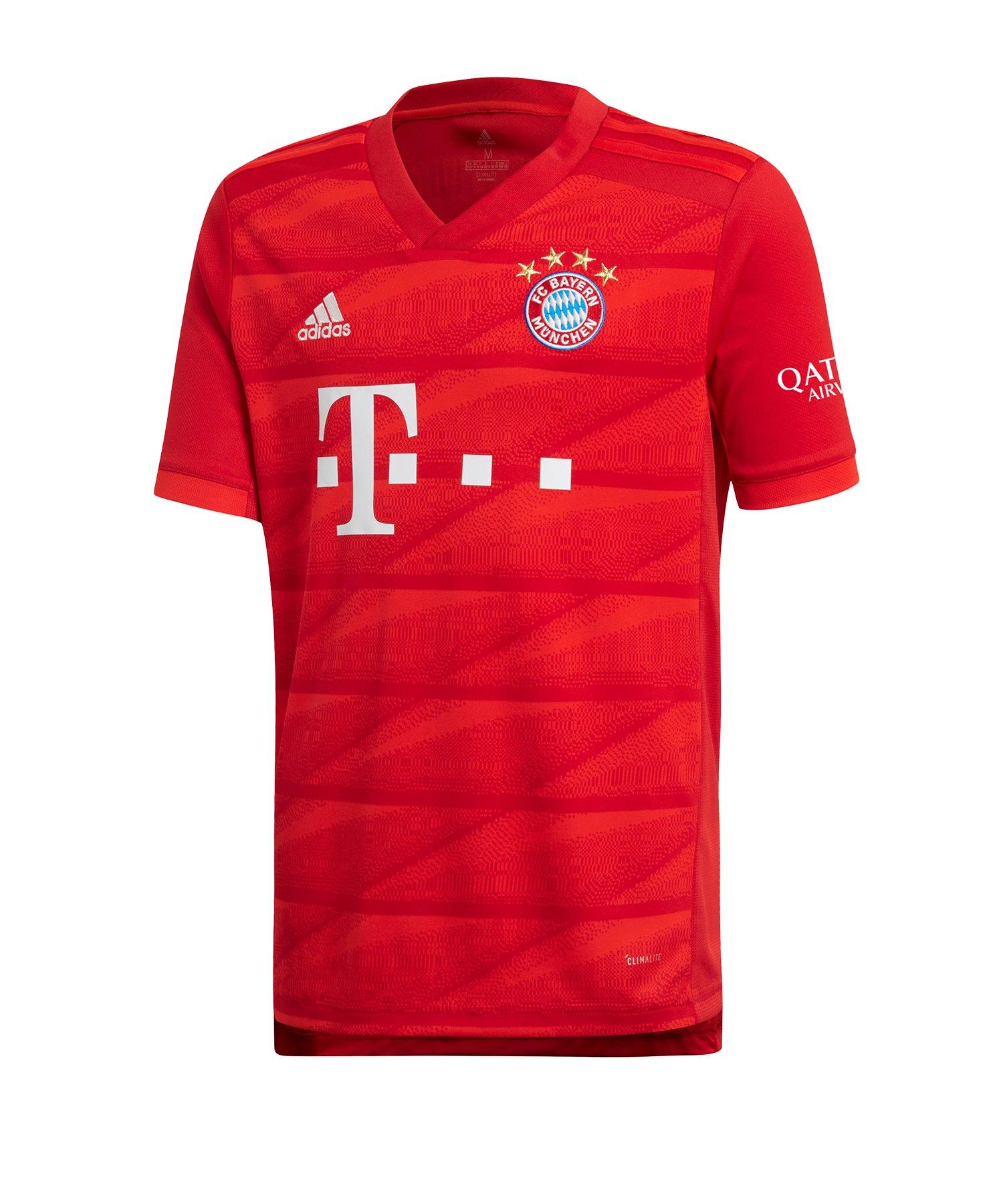 adidas FC Bayern München Trikot Home 2019/20 Kids - Rot