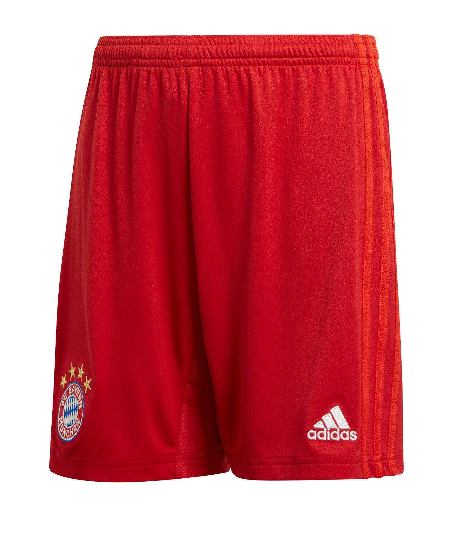 adidas FC Bayern München Short Home 2019/2020 Kids - Rot