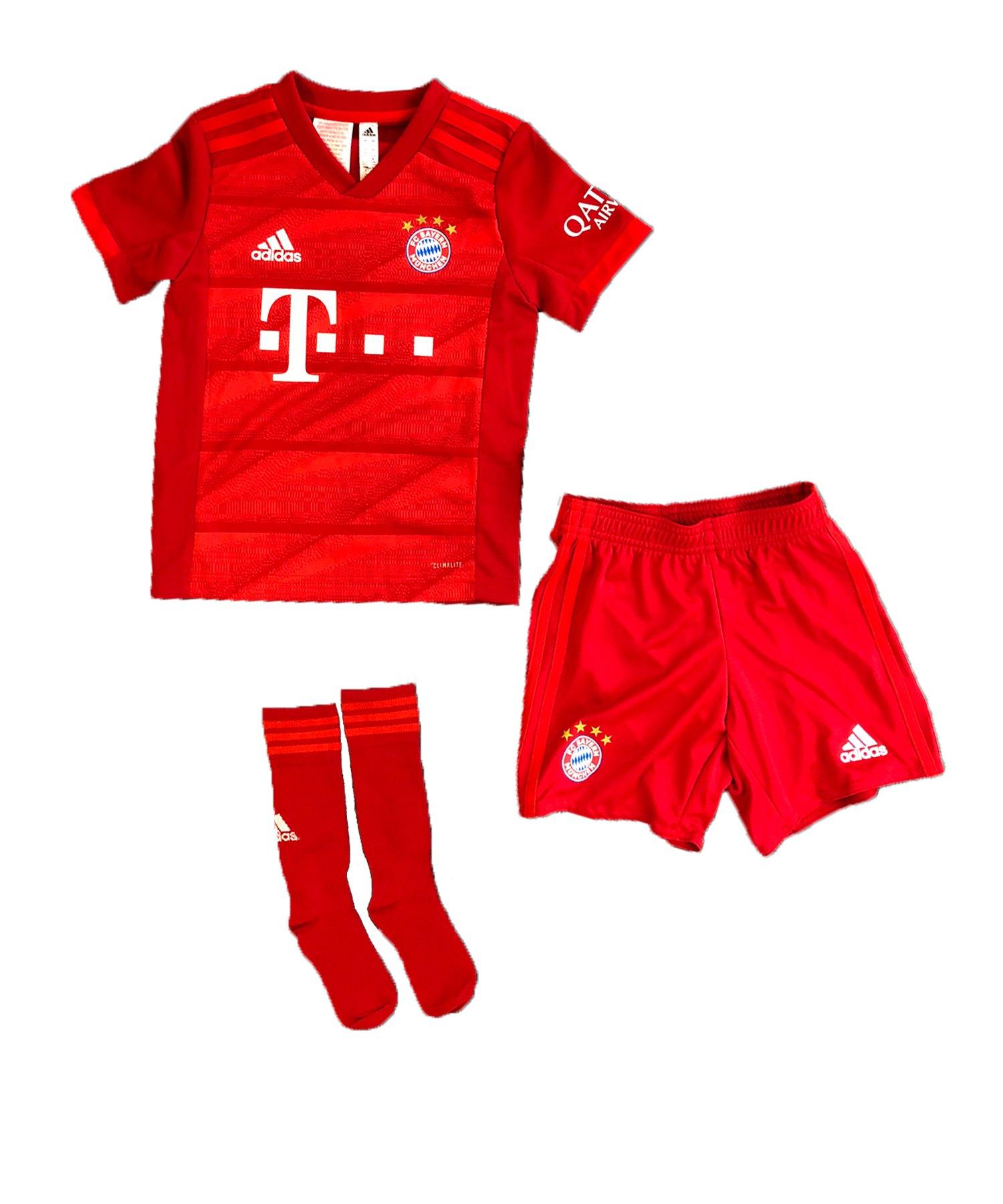 adidas FC Bayern München Minikit Home 2019/2020 - Rot