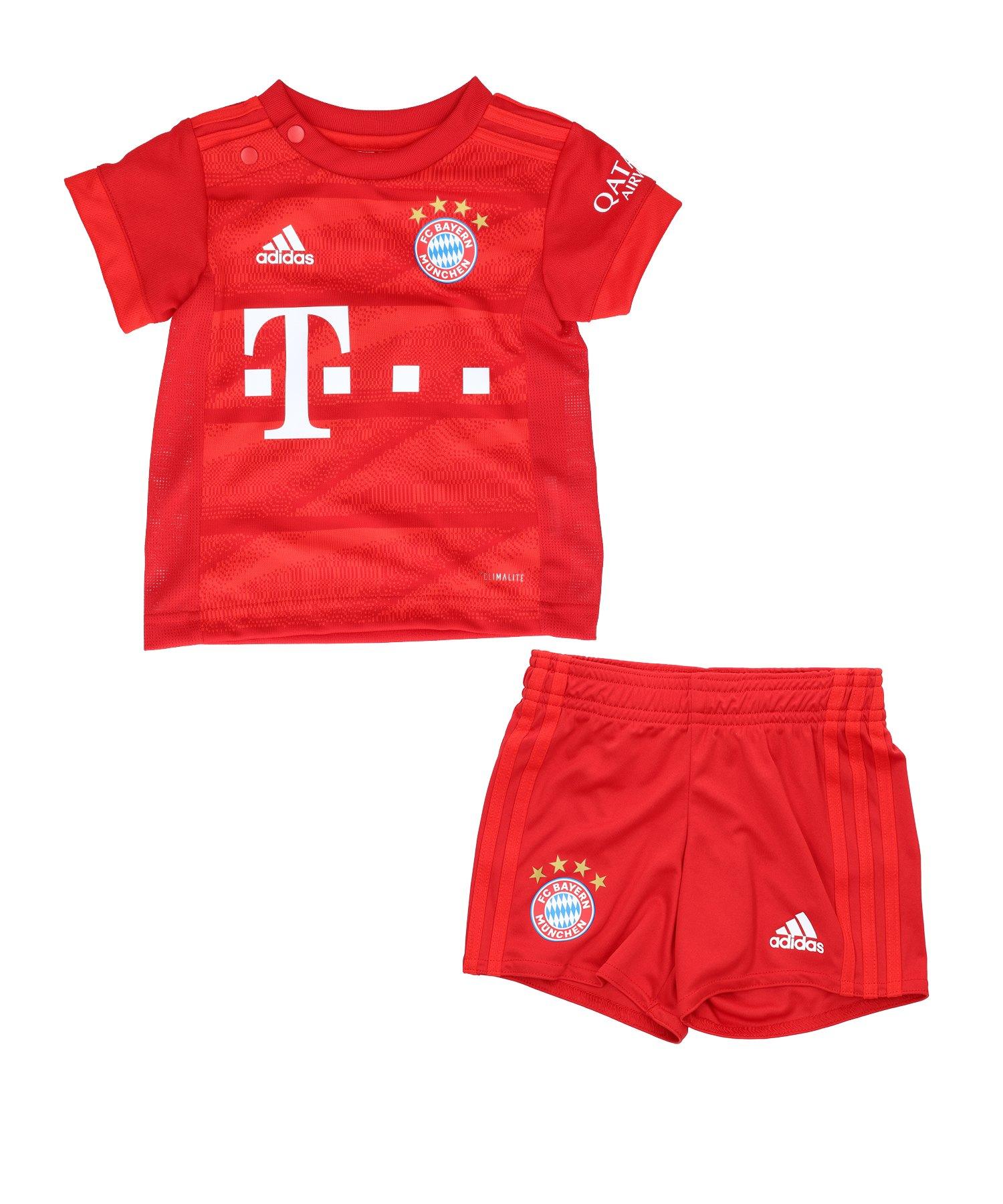 adidas FC Bayern München Babykit Home 2019/2020 - Rot