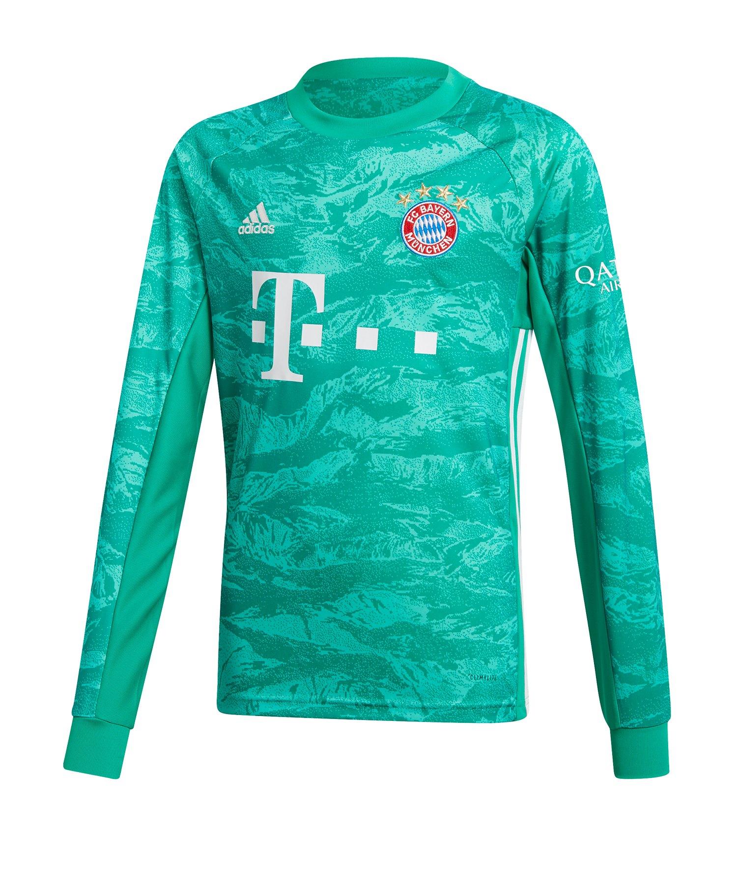 adidas FC Bayern München Torwarttrikot 19/20 Kids - Gruen