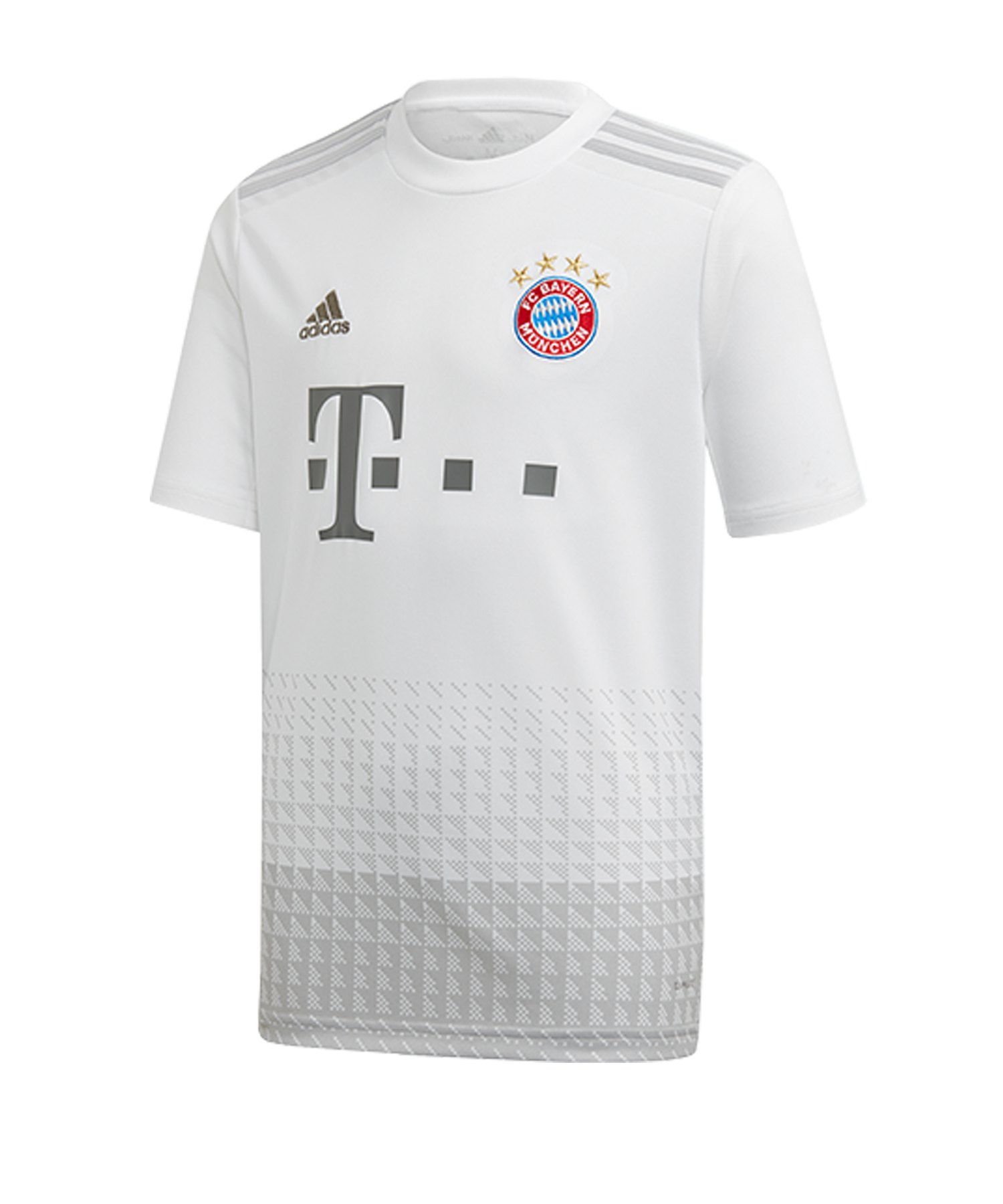 adidas FC Bayern München Trikot Away 2019/20 Kids - Weiss
