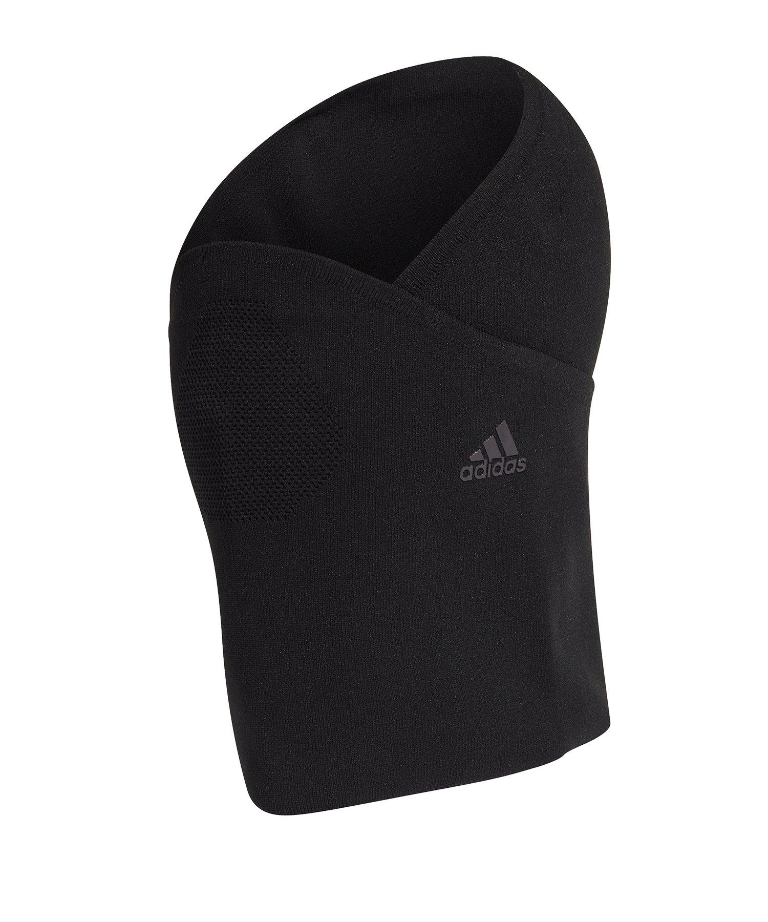 adidas Neckwarmer Gesichtsmaske Schwarz - schwarz