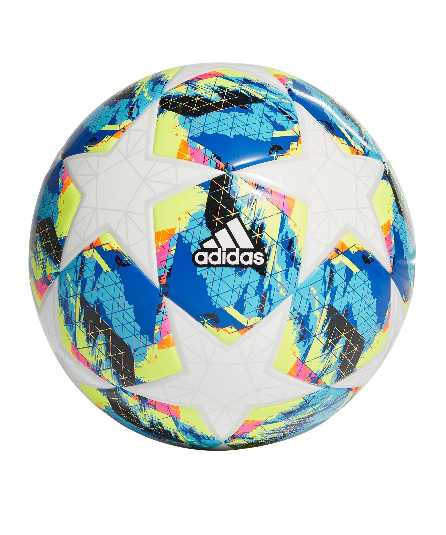 adidas Finale Lightball 350 Gramm Weiss Türkis - weiss