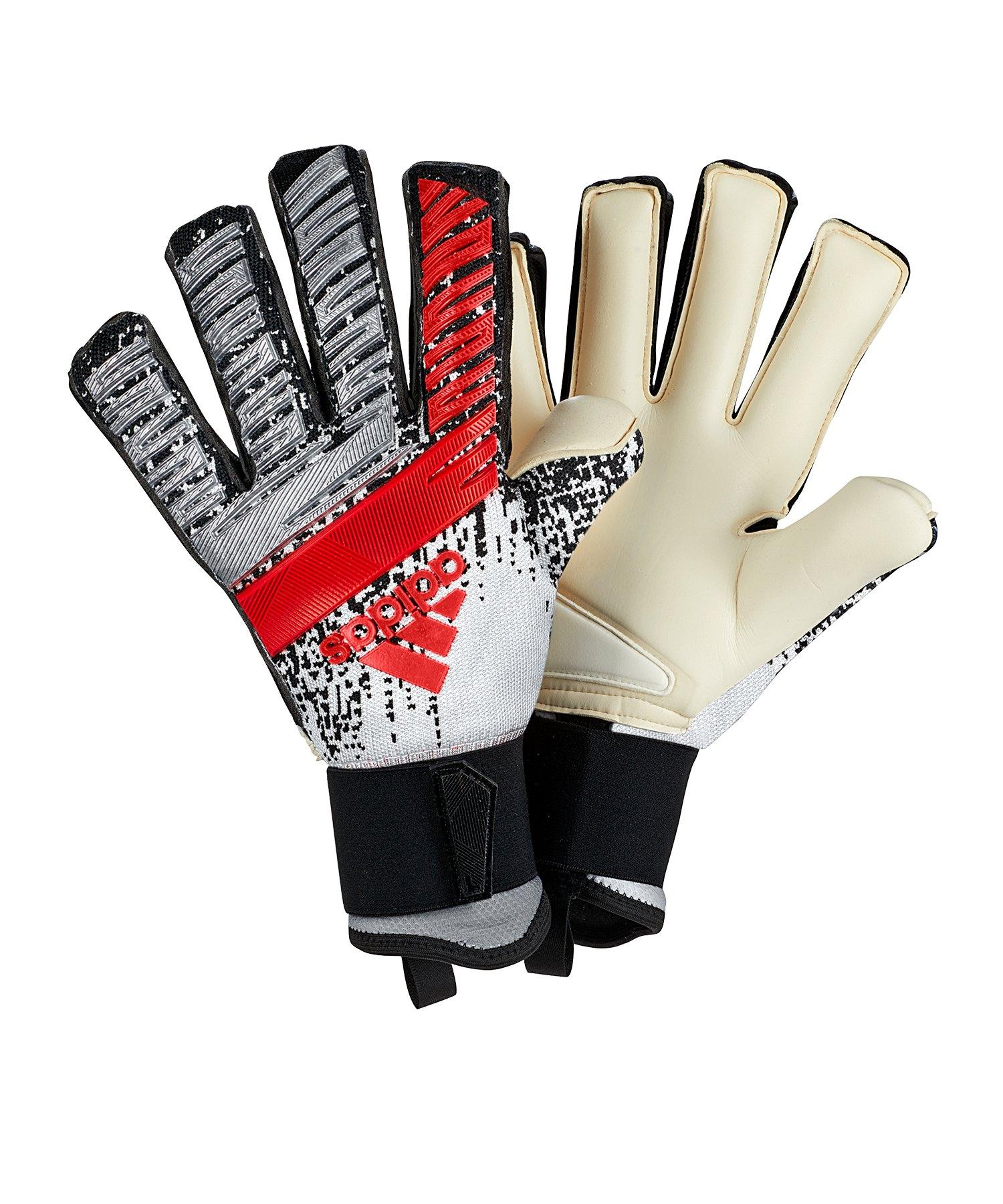 adidas Predator Pro FS TW-Handschuh Silber - silber
