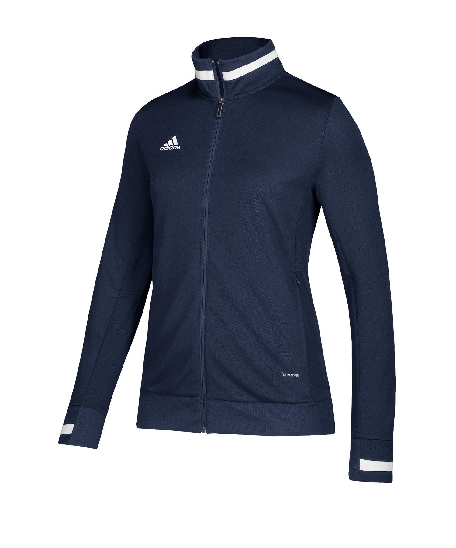 adidas Team 19 Track Jacket Damen Blau Weiss - blau