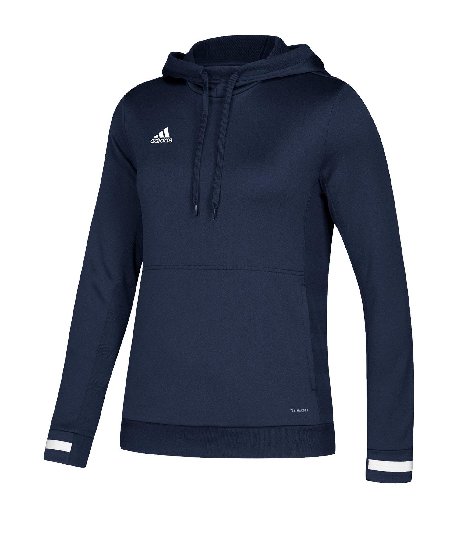 adidas Team 19 Kapuzensweatshirt Damen Blau - blau