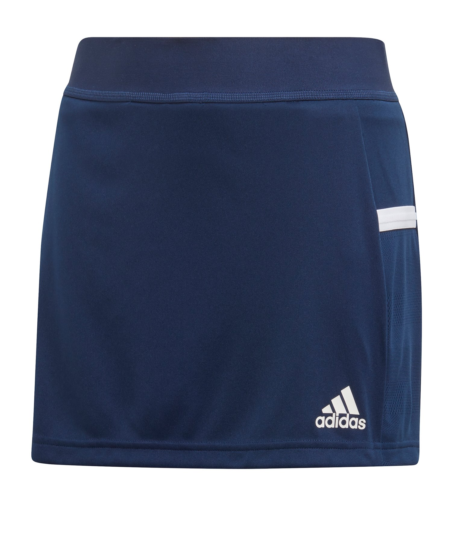 adidas Team 19 Skirt Rock Kids Blau Weiss - blau