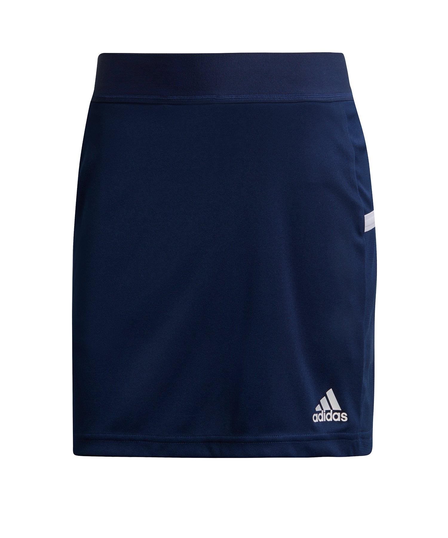 adidas Team 19 Skirt Rock Damen Blau Weiss - blau