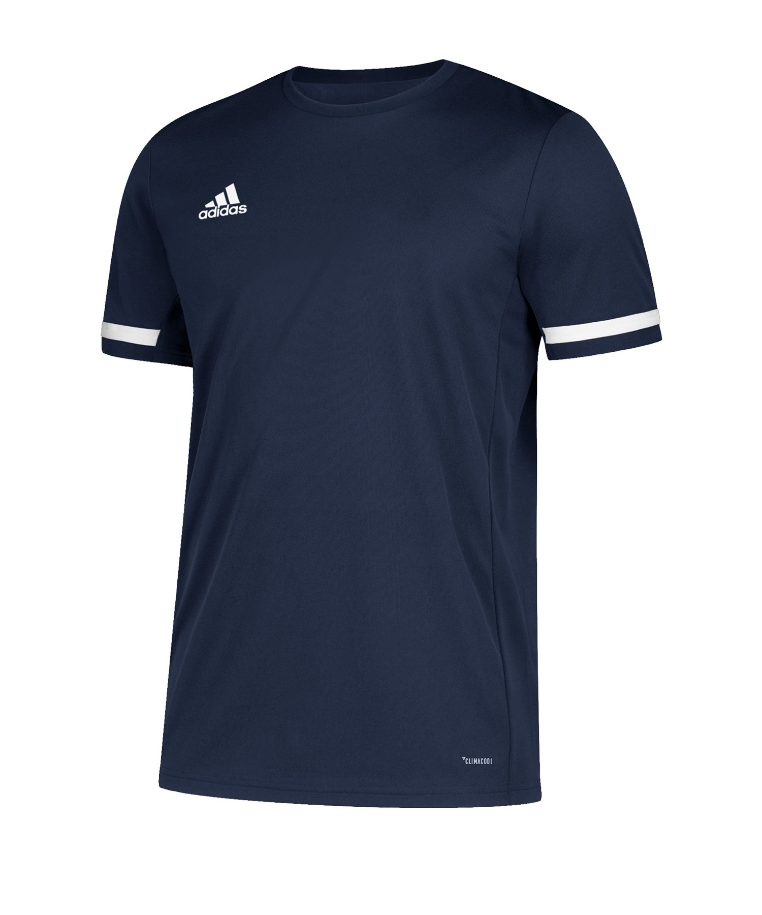 adidas Team 19 Trikot kurzarm Damen Blau Weiss - blau