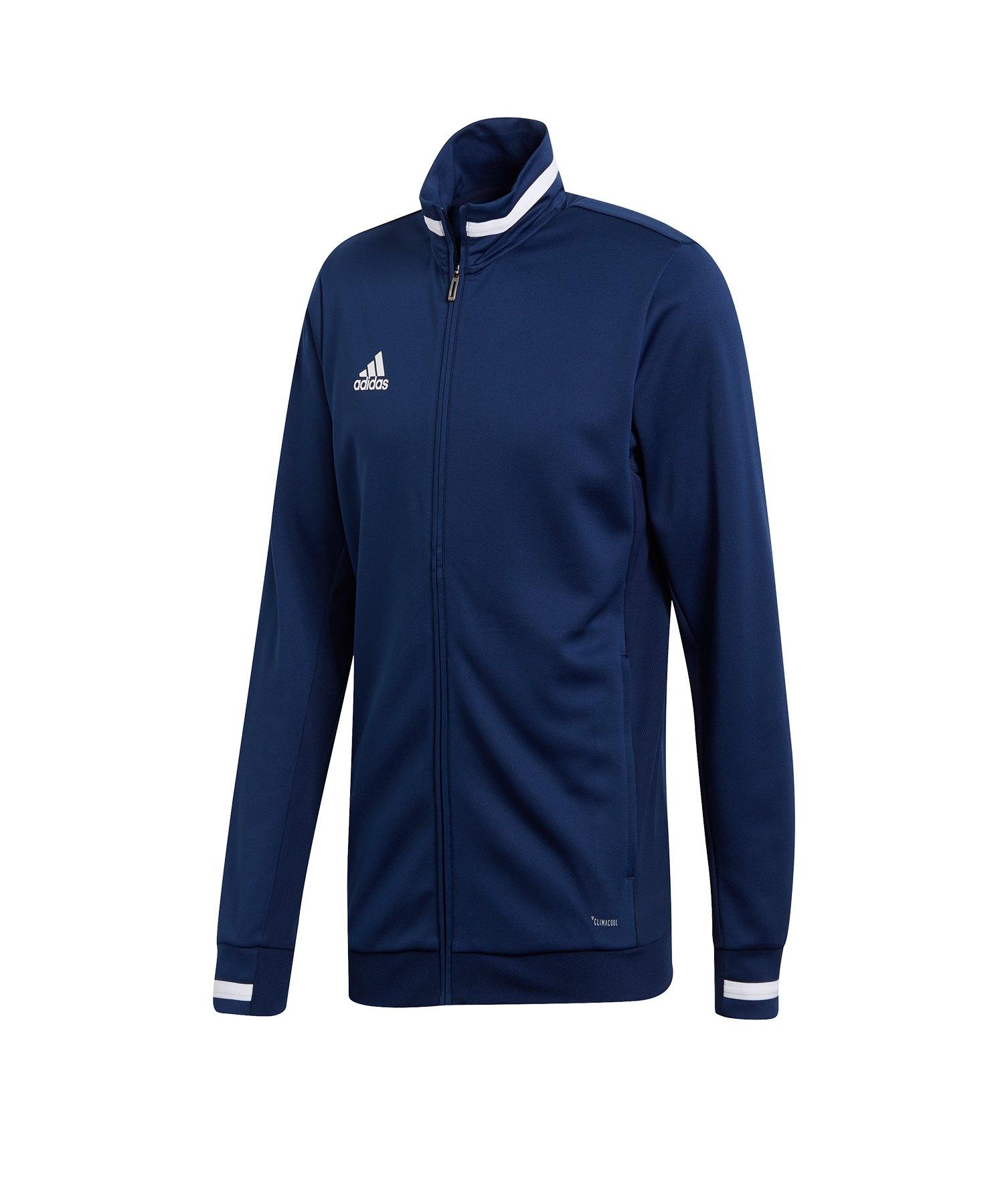 adidas Team 19 Track Jacket Jacke Blau Weiss - blau