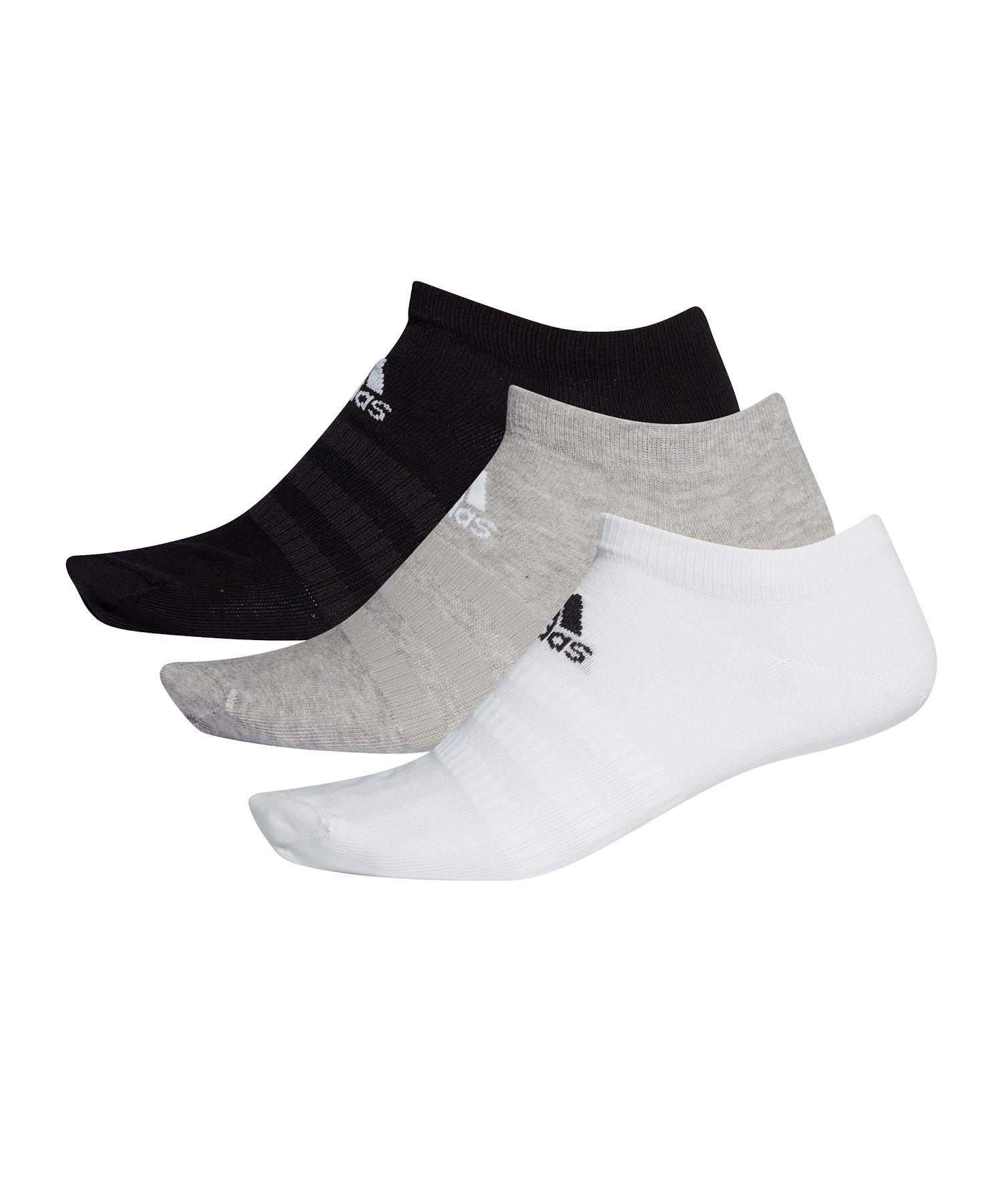 adidas Light Low Socken 3er Pack Multi - schwarz