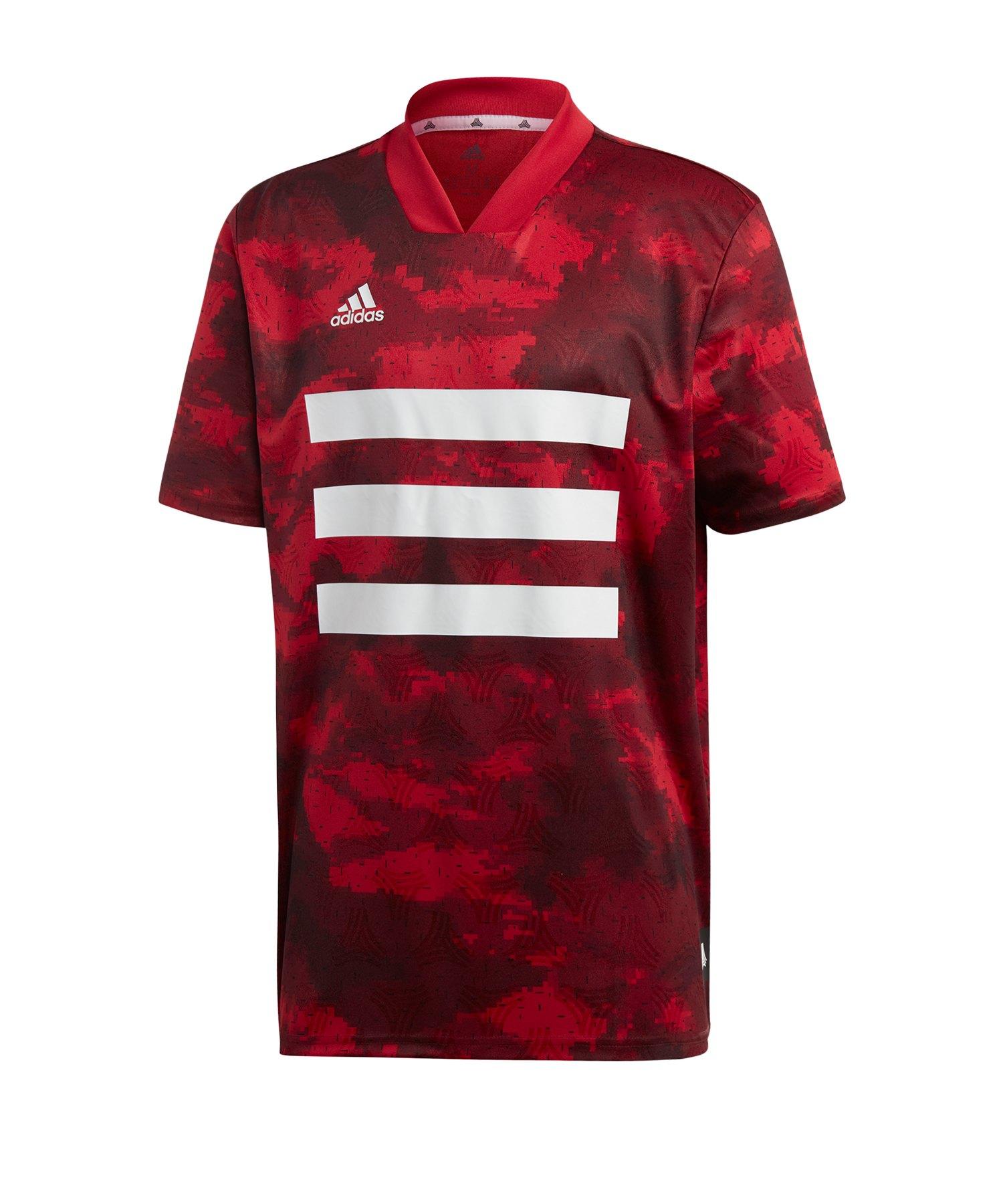 adidas Tango AOP T-Shirt Rot - rot