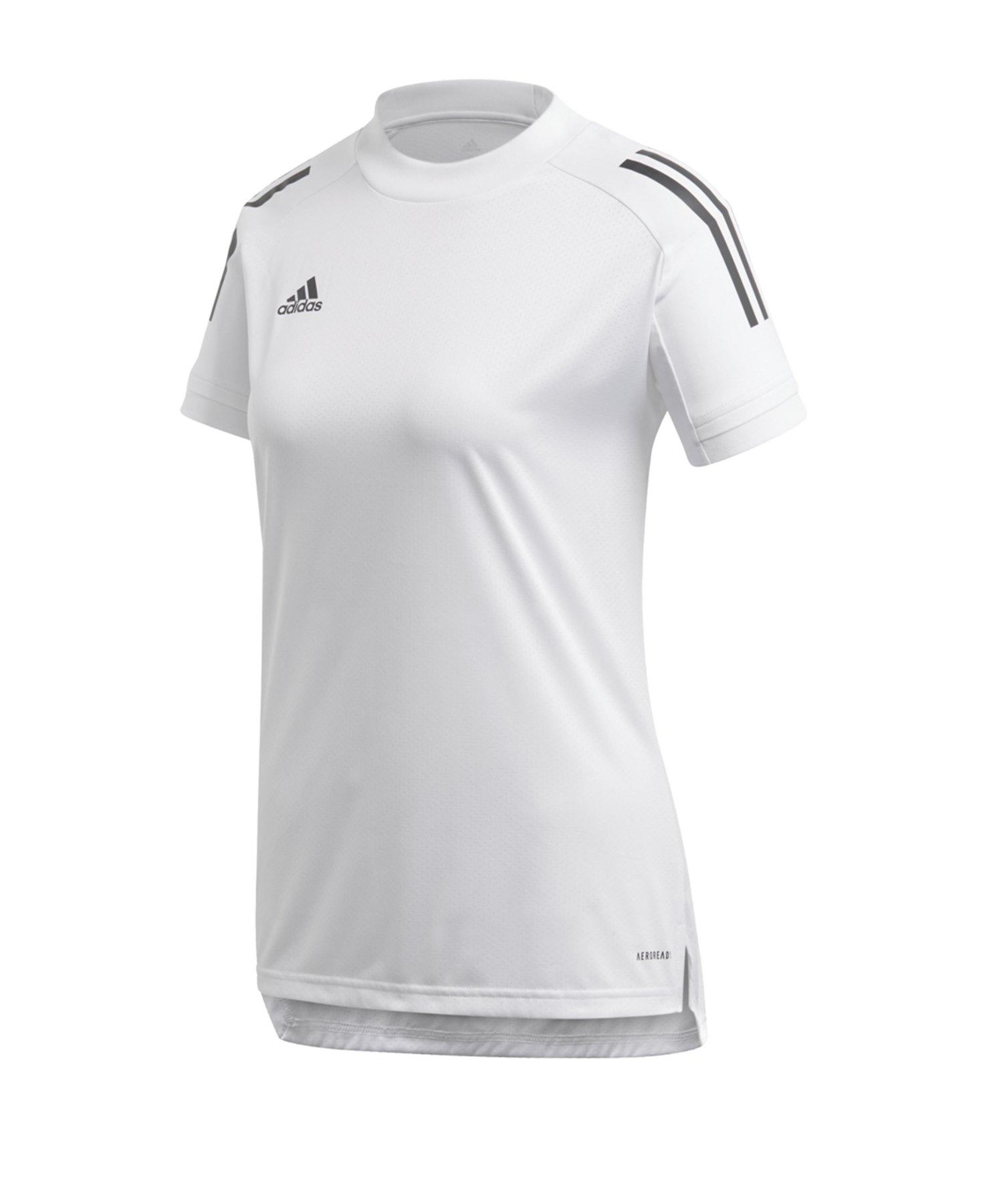 adidas Condivo 20 TR Shirt Damen Weiss - weiss