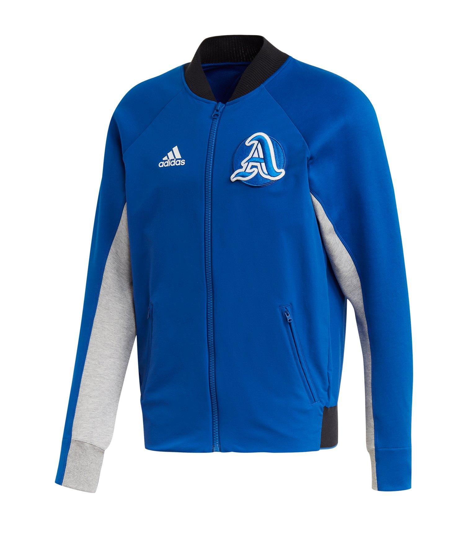 adidas V City Jacke Blau - blau