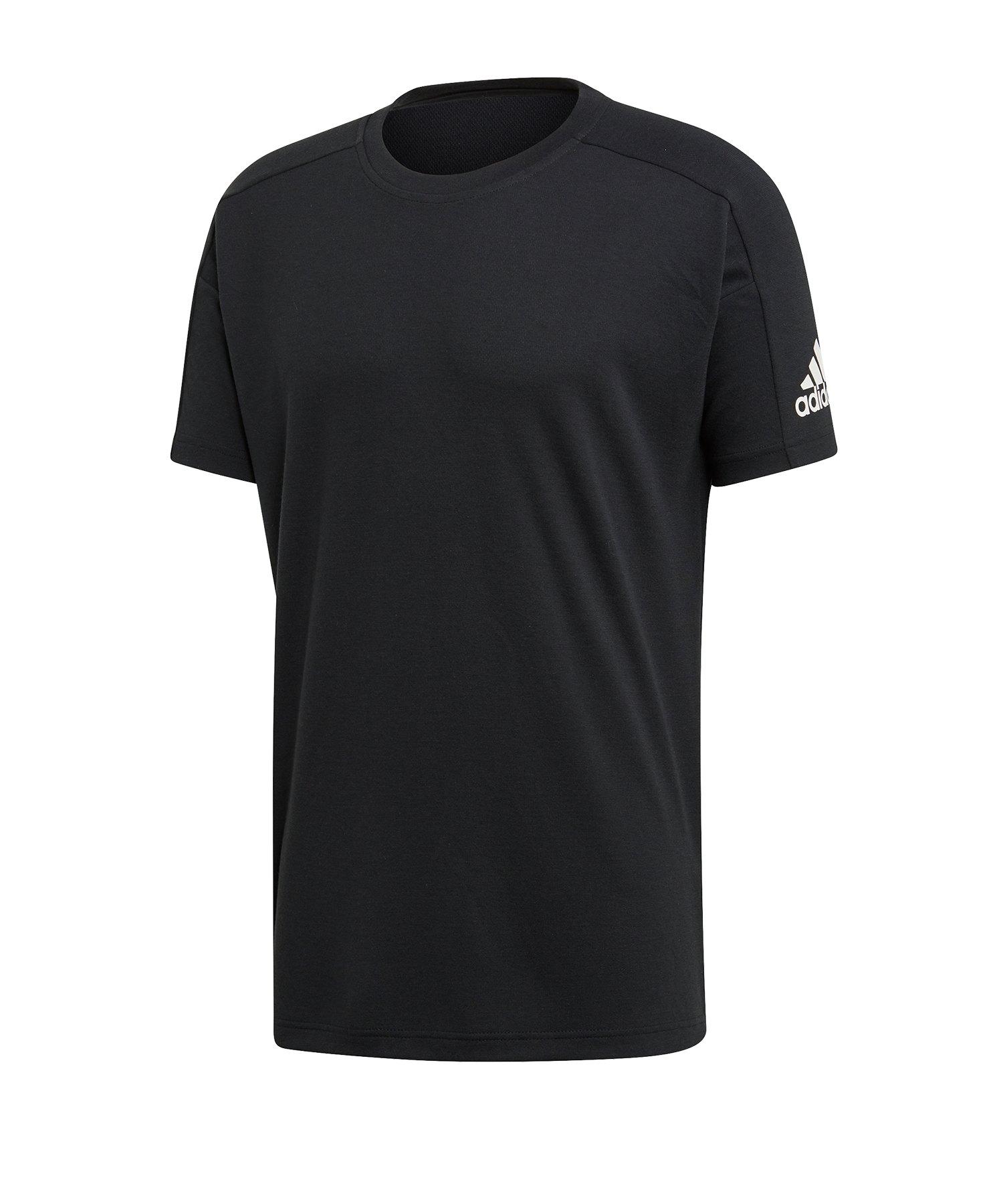 adidas ID Stadium Tee T-Shirt Schwarz - Schwarz