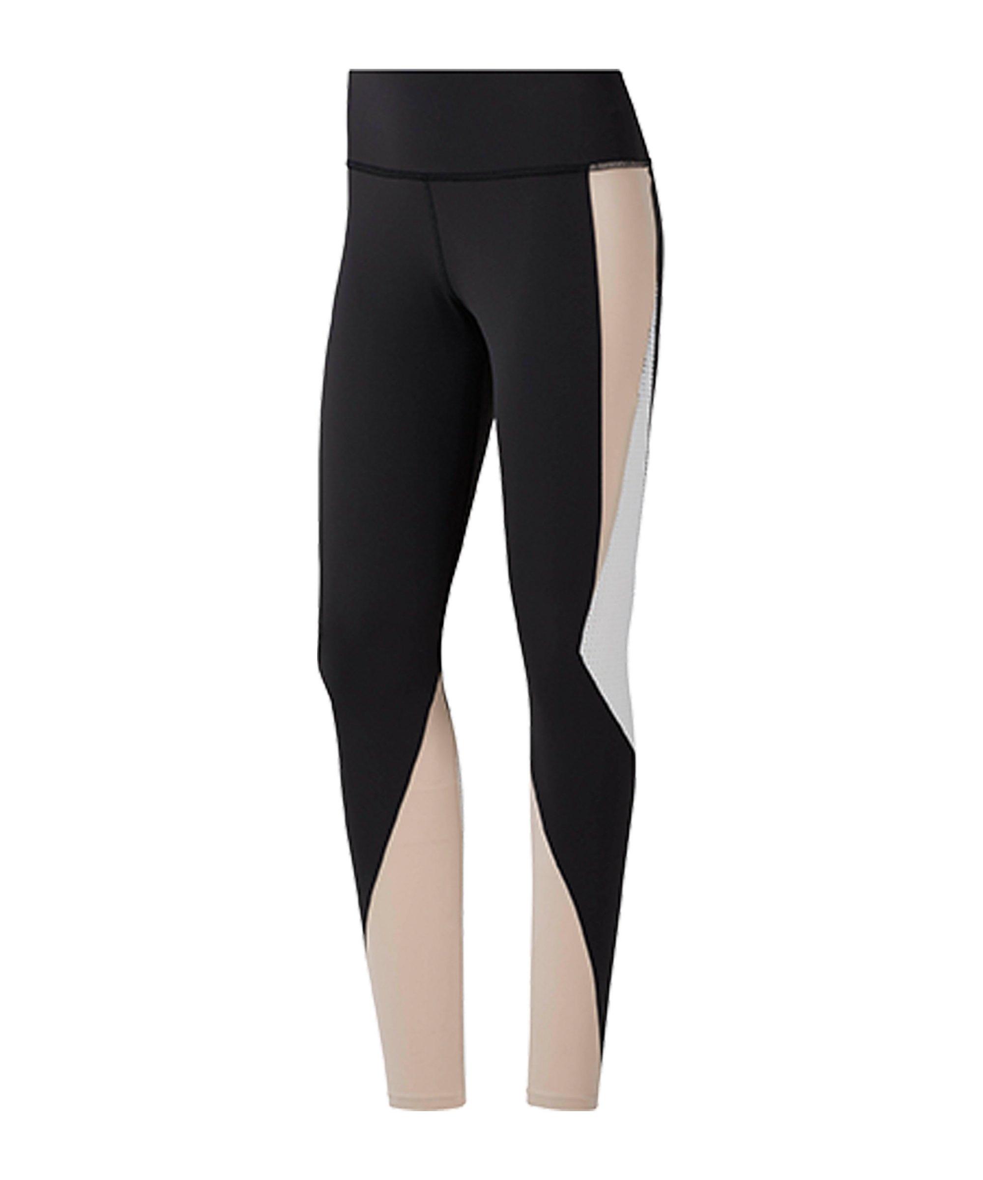 Reebok Lux Thight 2.0 Leggings Damen Schwarz Rosa - schwarz