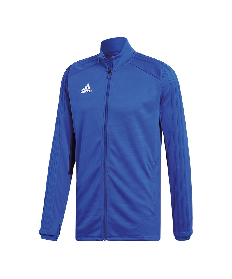 adidas Condivo 18 Trainingsjacke Blau Weiss - blau