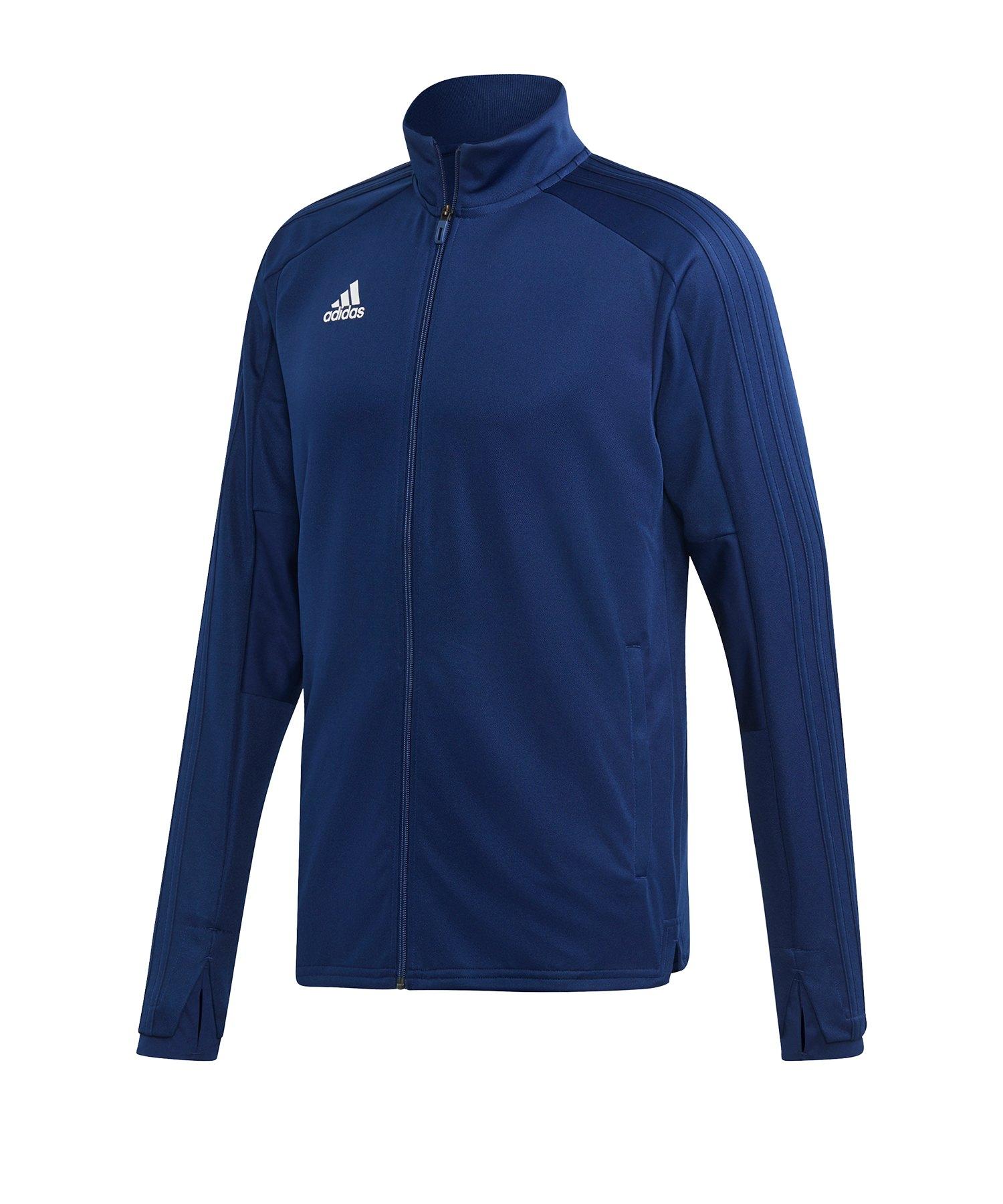 adidas Condivo 18 Trainingsjacke Dunkelblau Weiss - blau