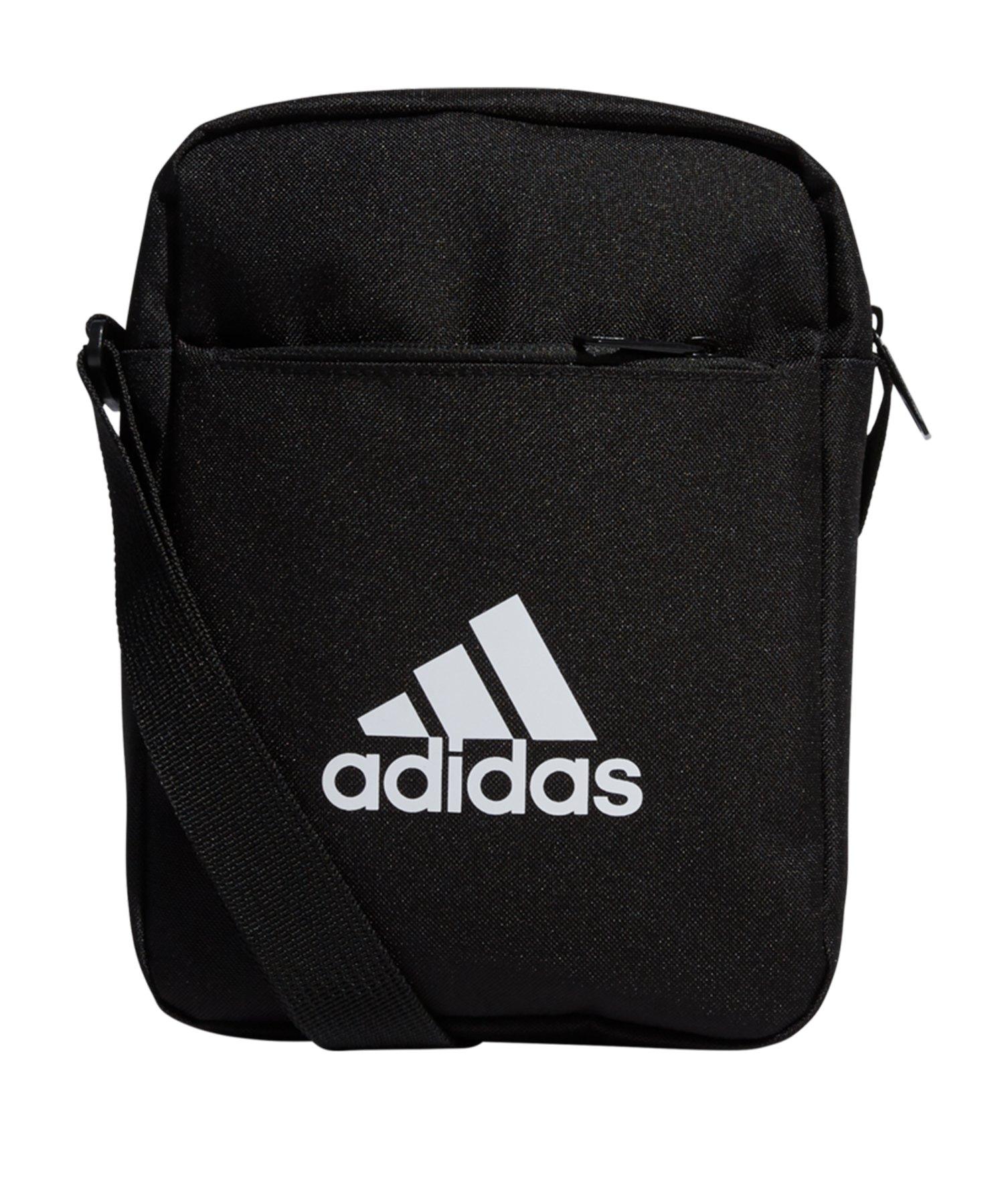 adidas Mini Bag Tasche Schwarz Weiss - schwarz