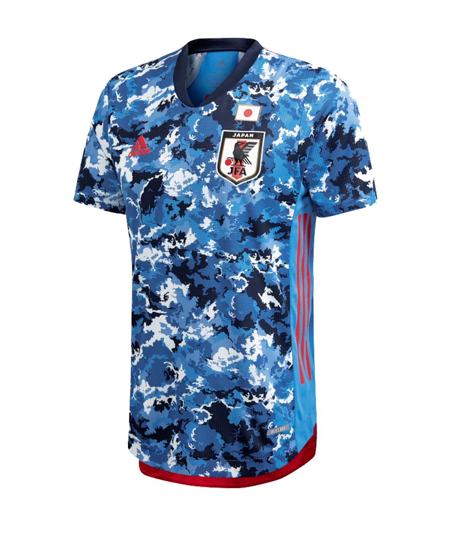 adidas Japan Authentic Trikot Home EM 2020 Blau - blau