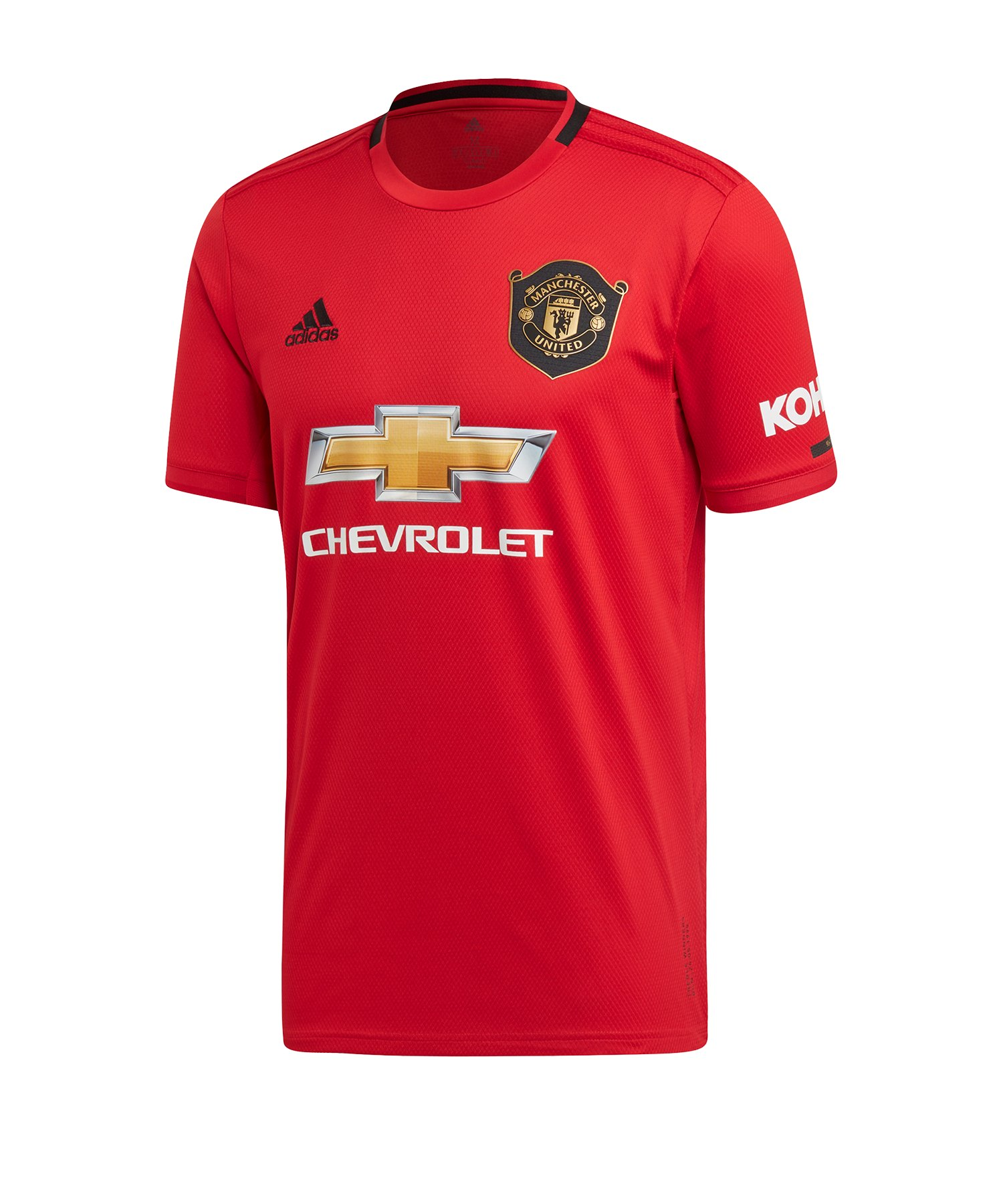 adidas Manchester United Trikot Home 2019/2020 Rot - Rot