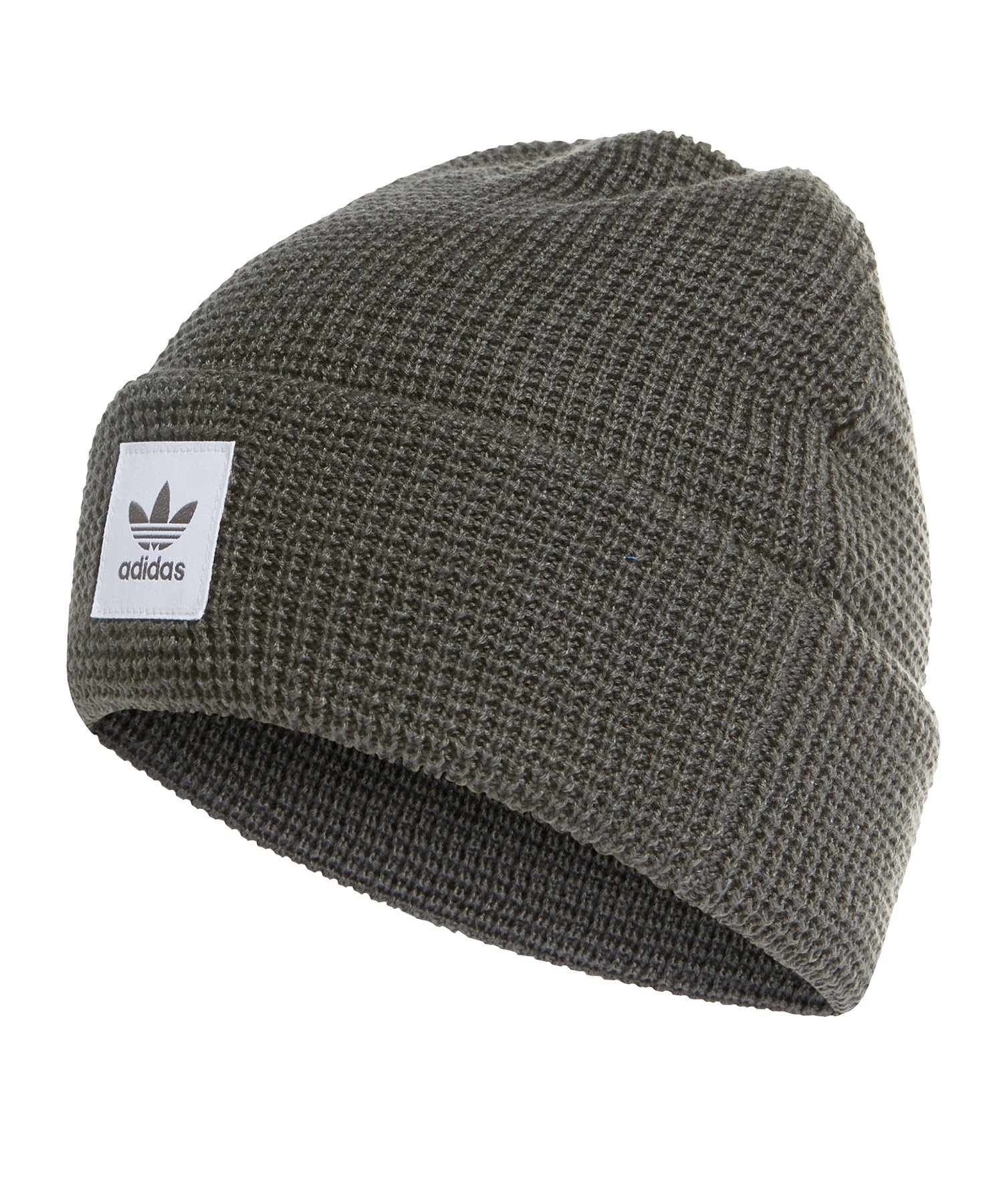 adidas Originals Wuffle Cuff Cap Kappe Grau Weiss - grau