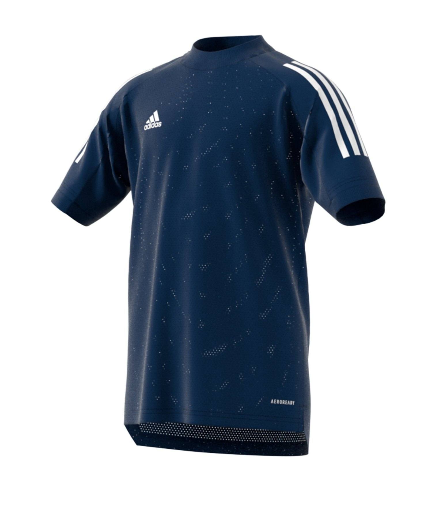 adidas Condivo 20 TR Shirt kurzarm Kids Dunkelblau - blau
