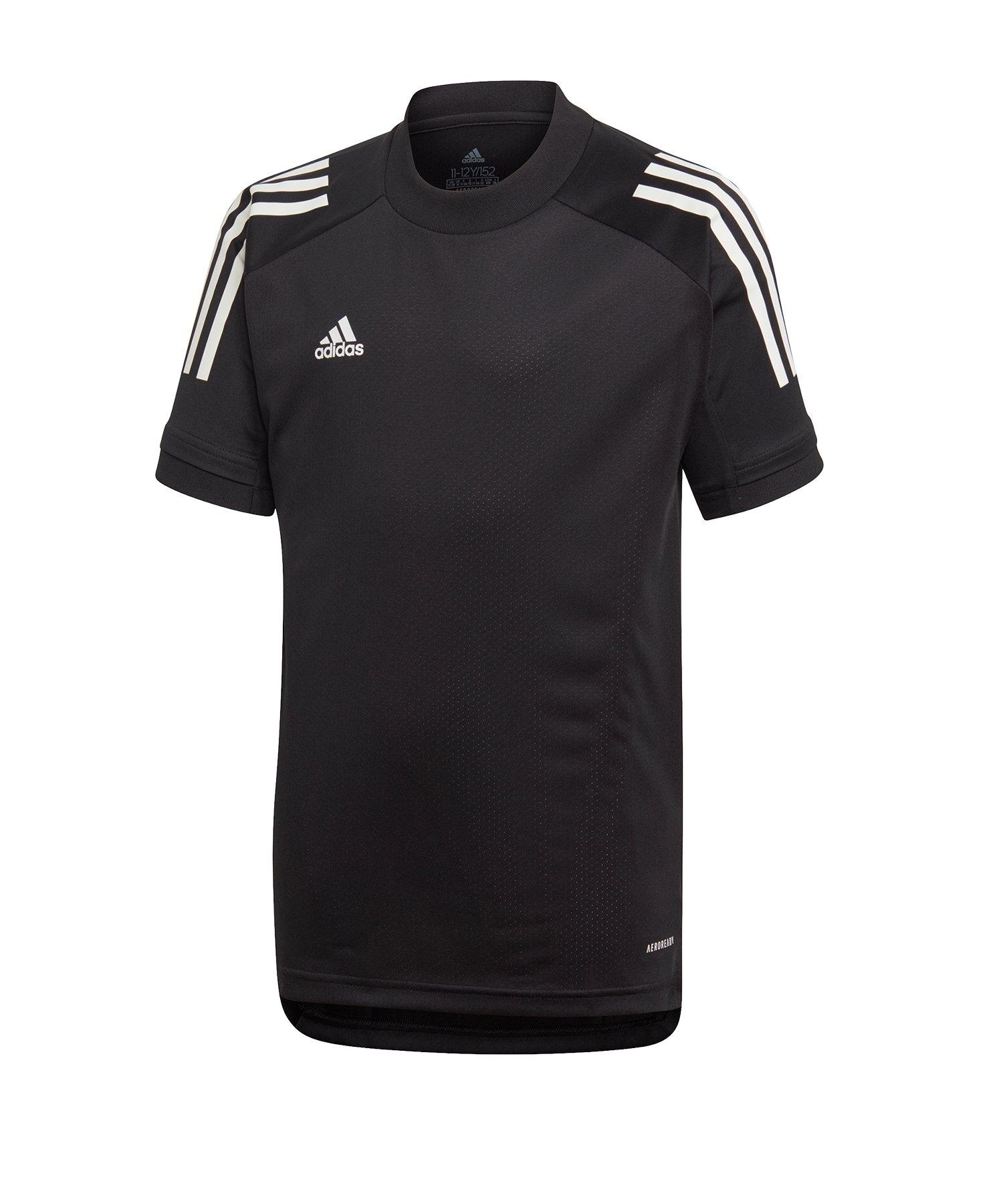 adidas Condivo 20 Trainingsshirt Kids Schwarz - schwarz