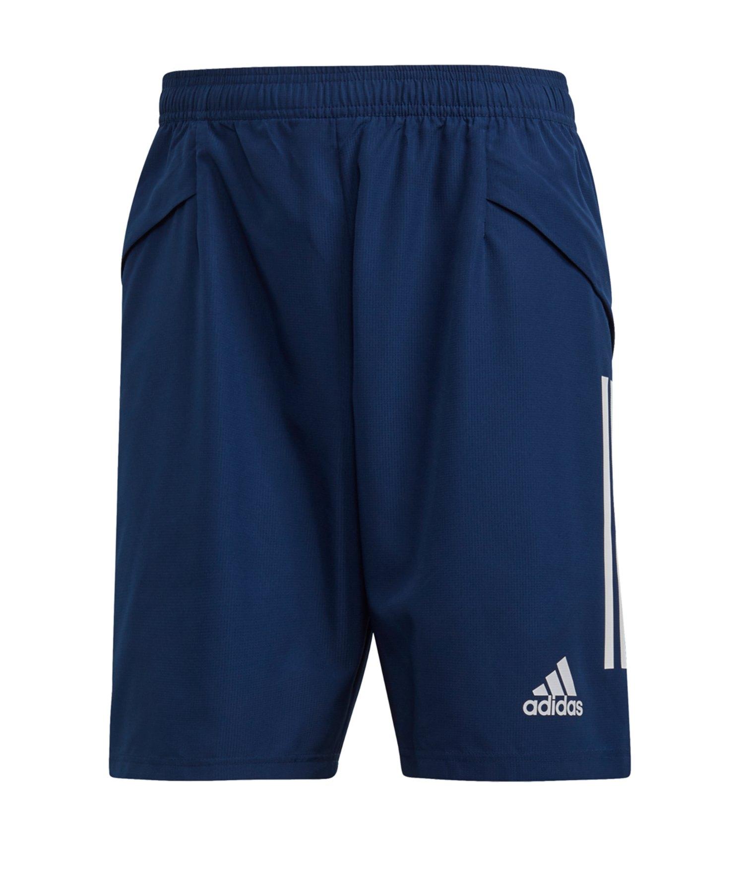 adidas Condivo 20 DT Short Dunkelblau Weiss - blau