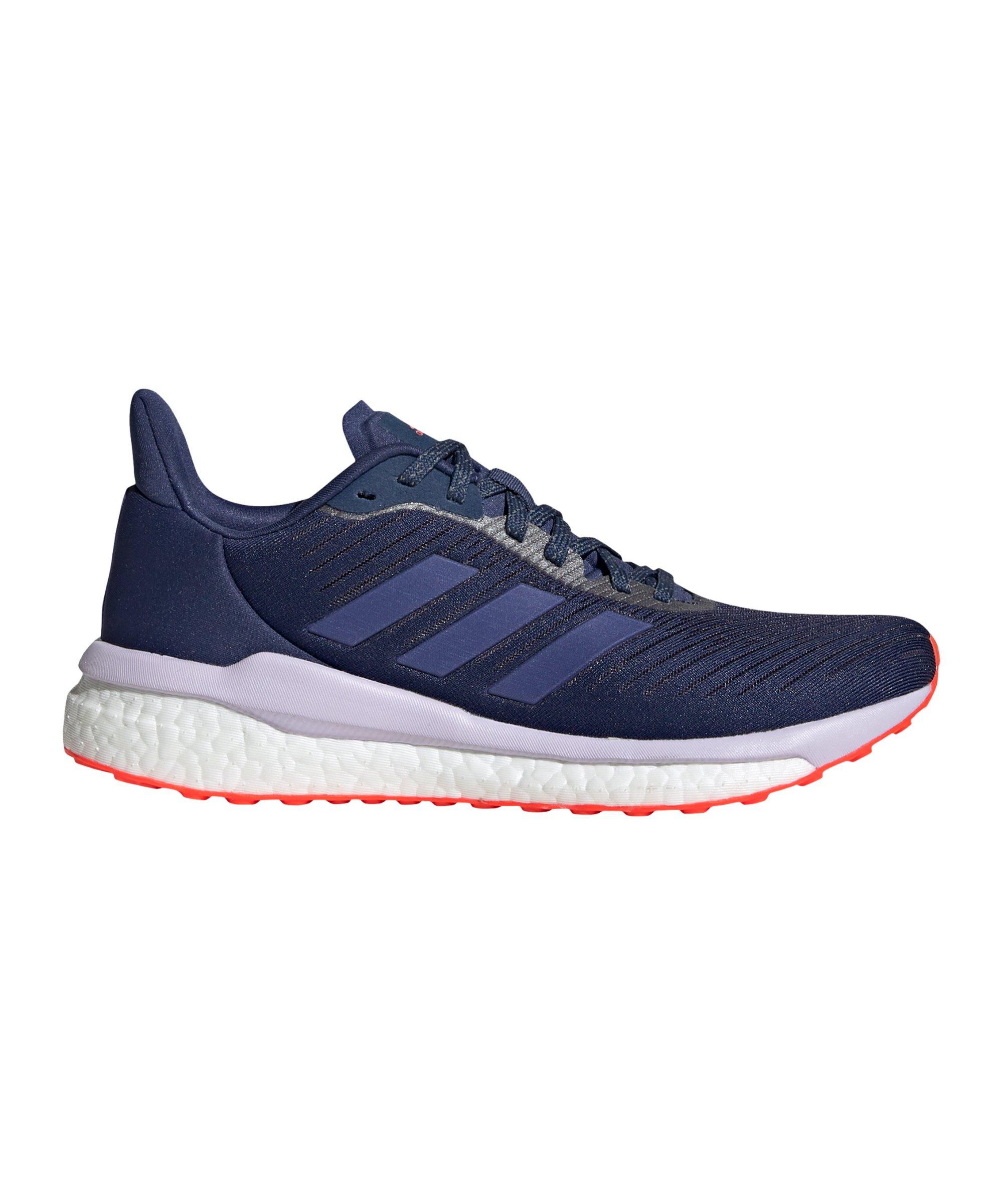 adidas Solar Drive 19 Running Damen Blau Orange - blau