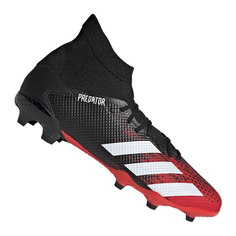 adidas Predator 20.3 FG Schwarz Rot - schwarz