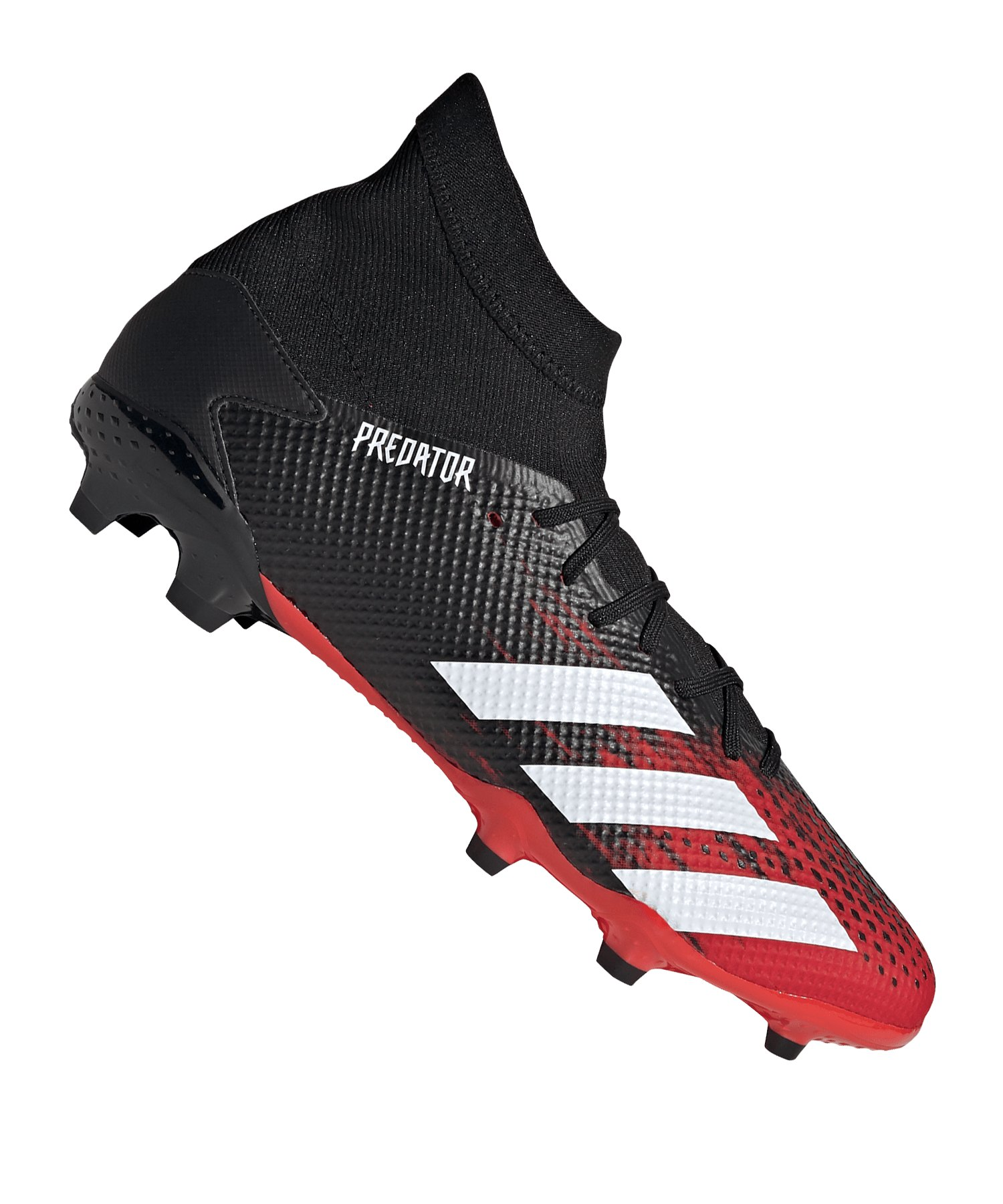 adidas Predator Mutator 20.3 FG Schwarz Rot - schwarz
