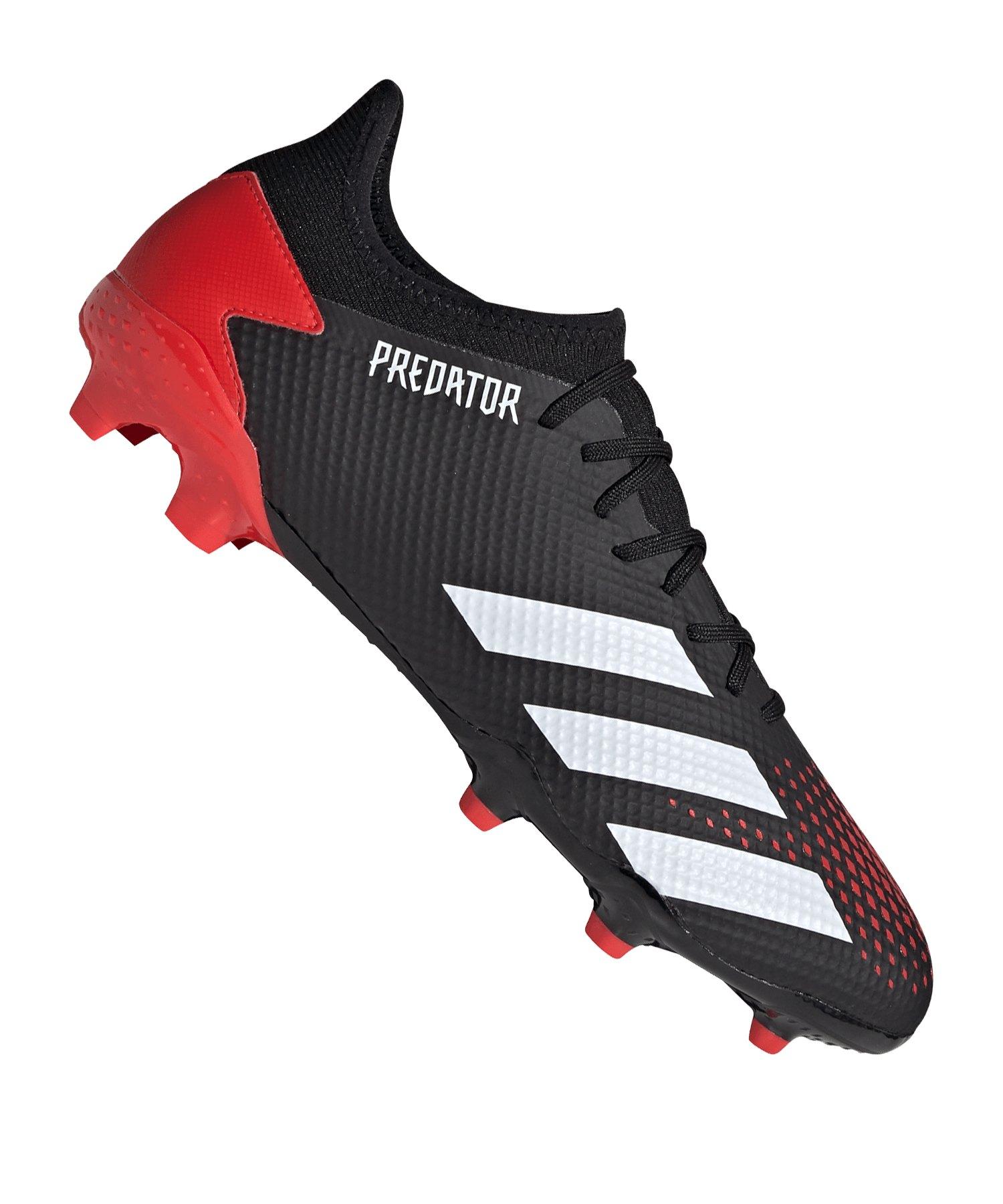 adidas Predator Mutator 20.3 L FG Schwarz Rot - schwarz