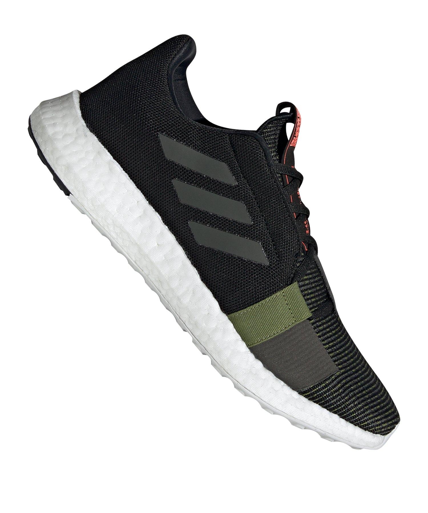 adidas Sense Boost Go Running Schwarz - schwarz